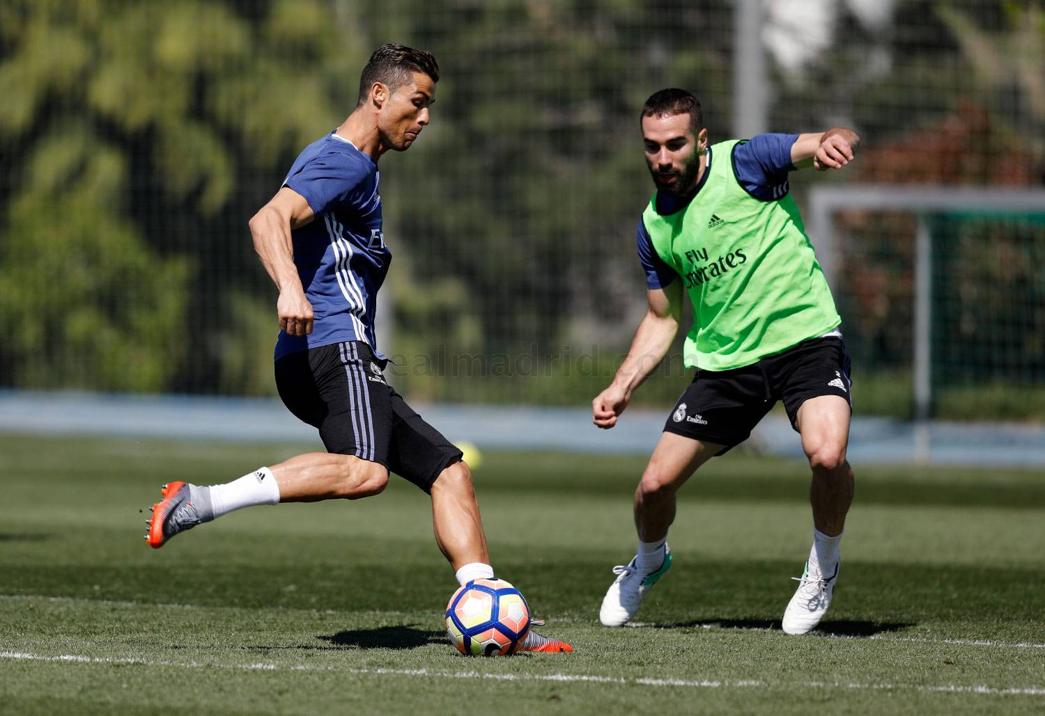 Real Madrid - Entrenamiento del Real Madrid - 06-04-2017