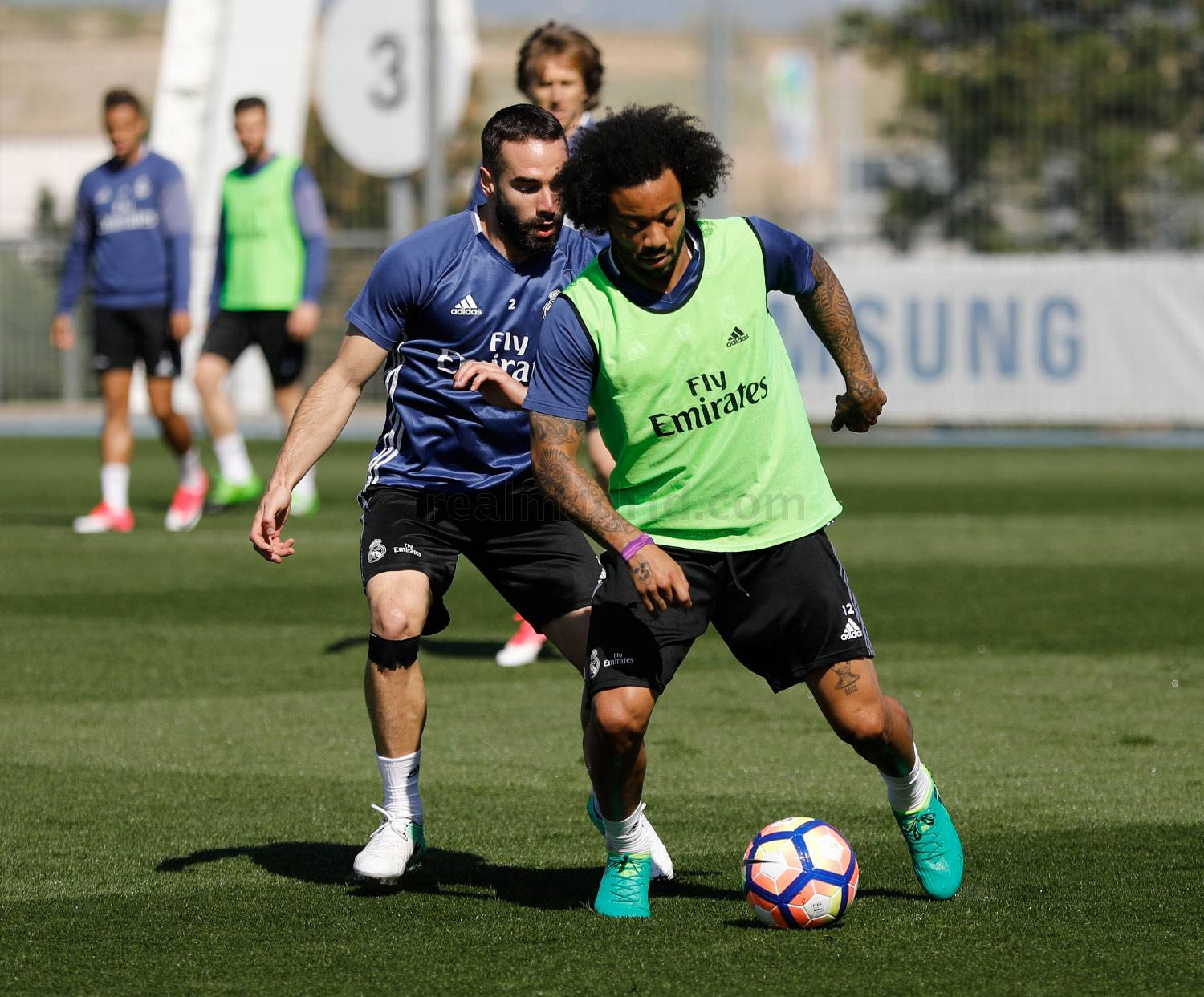 Real Madrid - Entrenamiento del Real Madrid - 07-04-2017