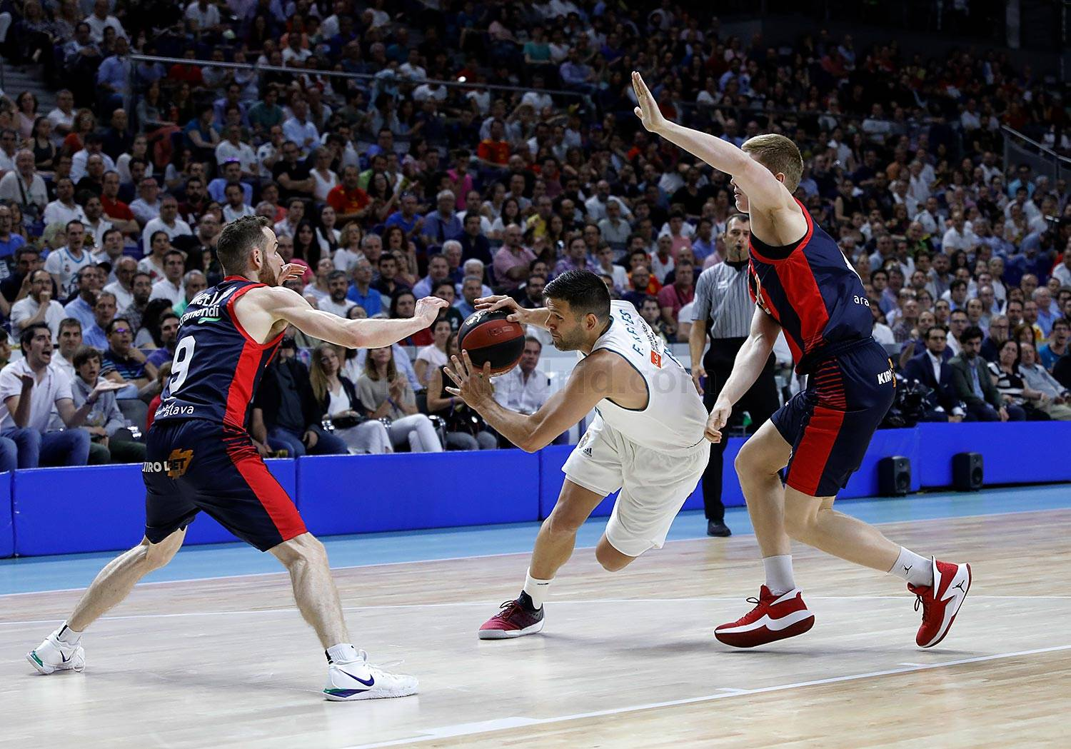 Real Madrid - Real Madrid - Kirolbet Baskonia - 16-06-2018