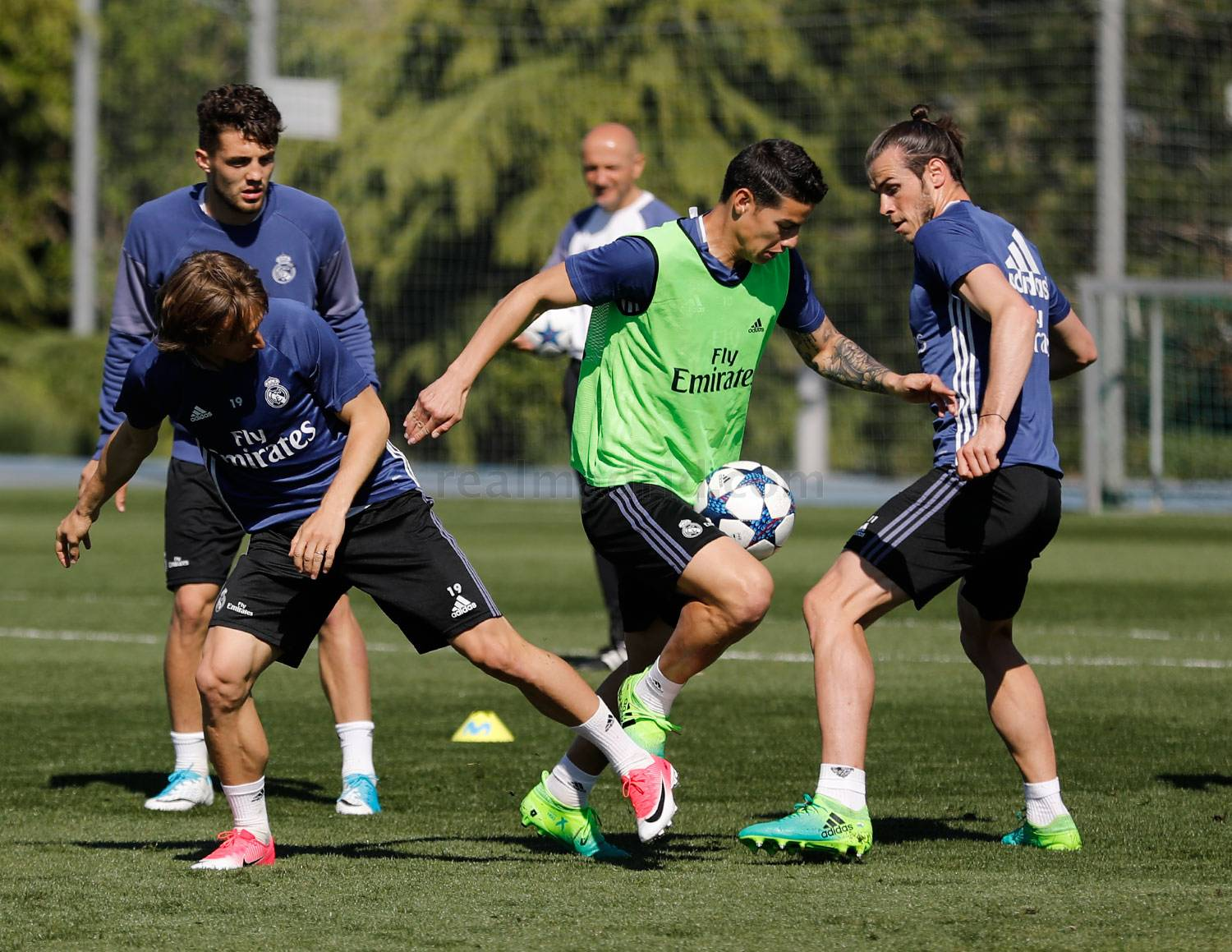 Real Madrid - Entrenamiento del Real Madrid - 10-04-2017