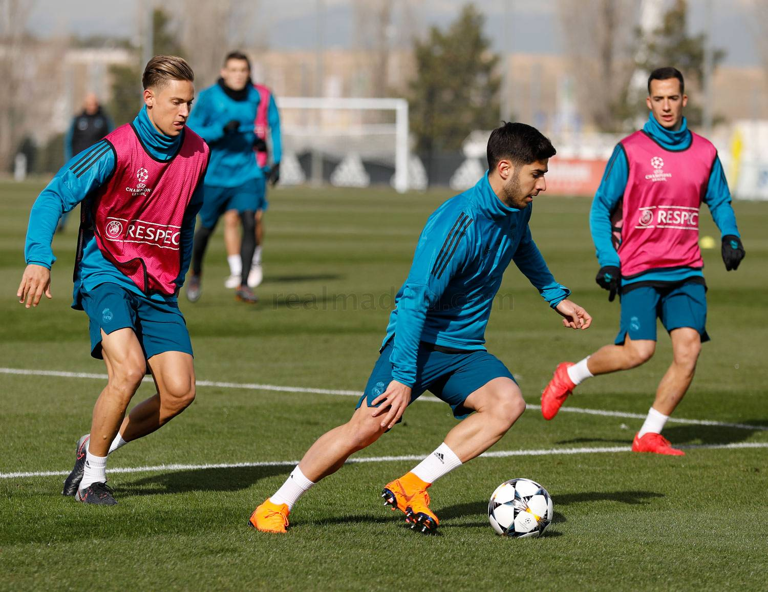 Real Madrid - Entrenamiento del Real Madrid - 13-02-2018