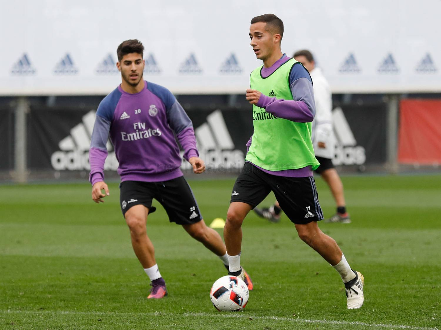 Real Madrid - Entrenamiento del Real Madrid - 24-10-2016