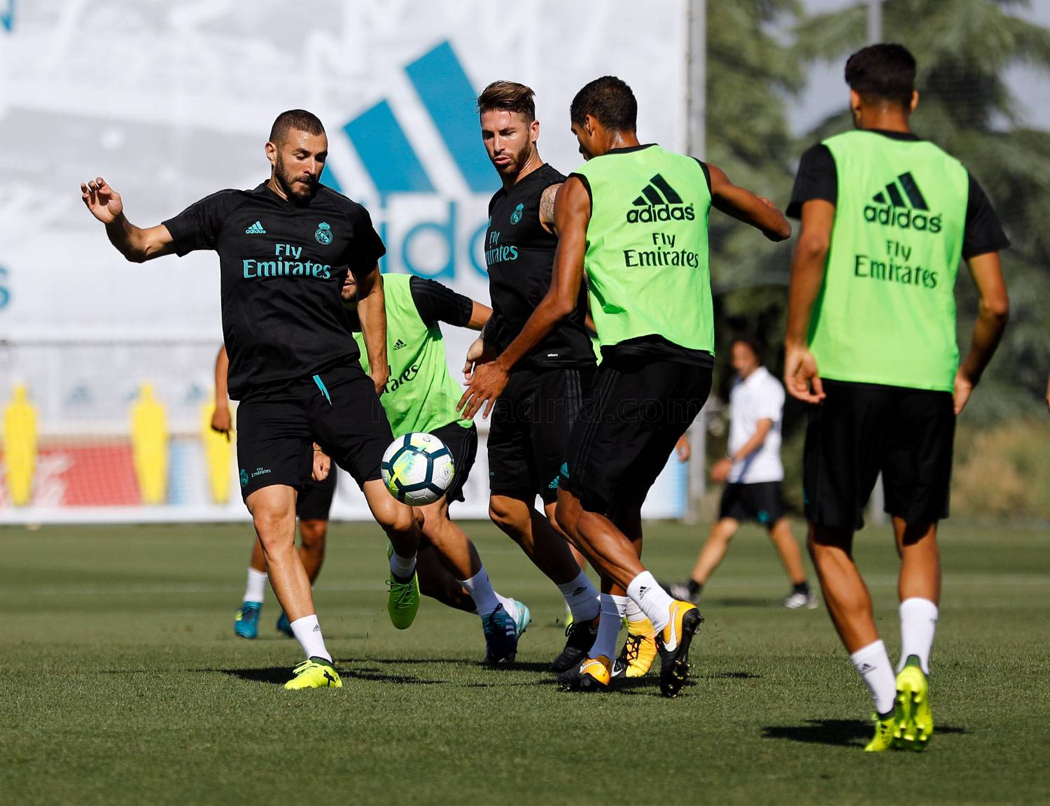 Real Madrid - Entrenamiento del Real Madrid - 19-08-2017