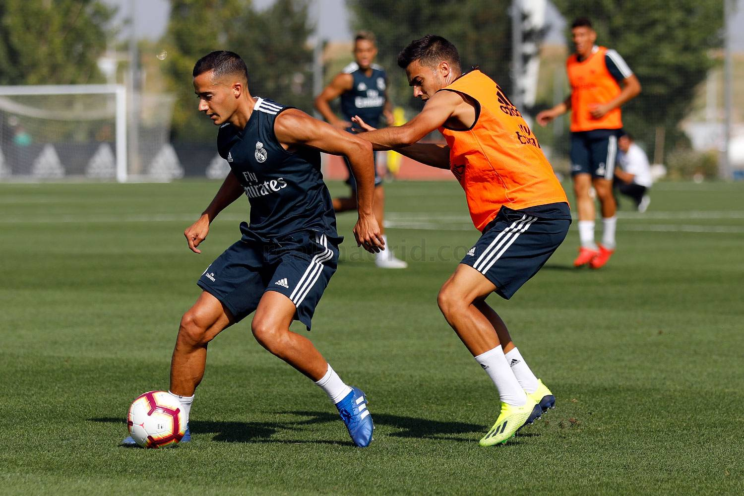 Real Madrid - Entrenamiento del Real Madrid - 05-09-2018