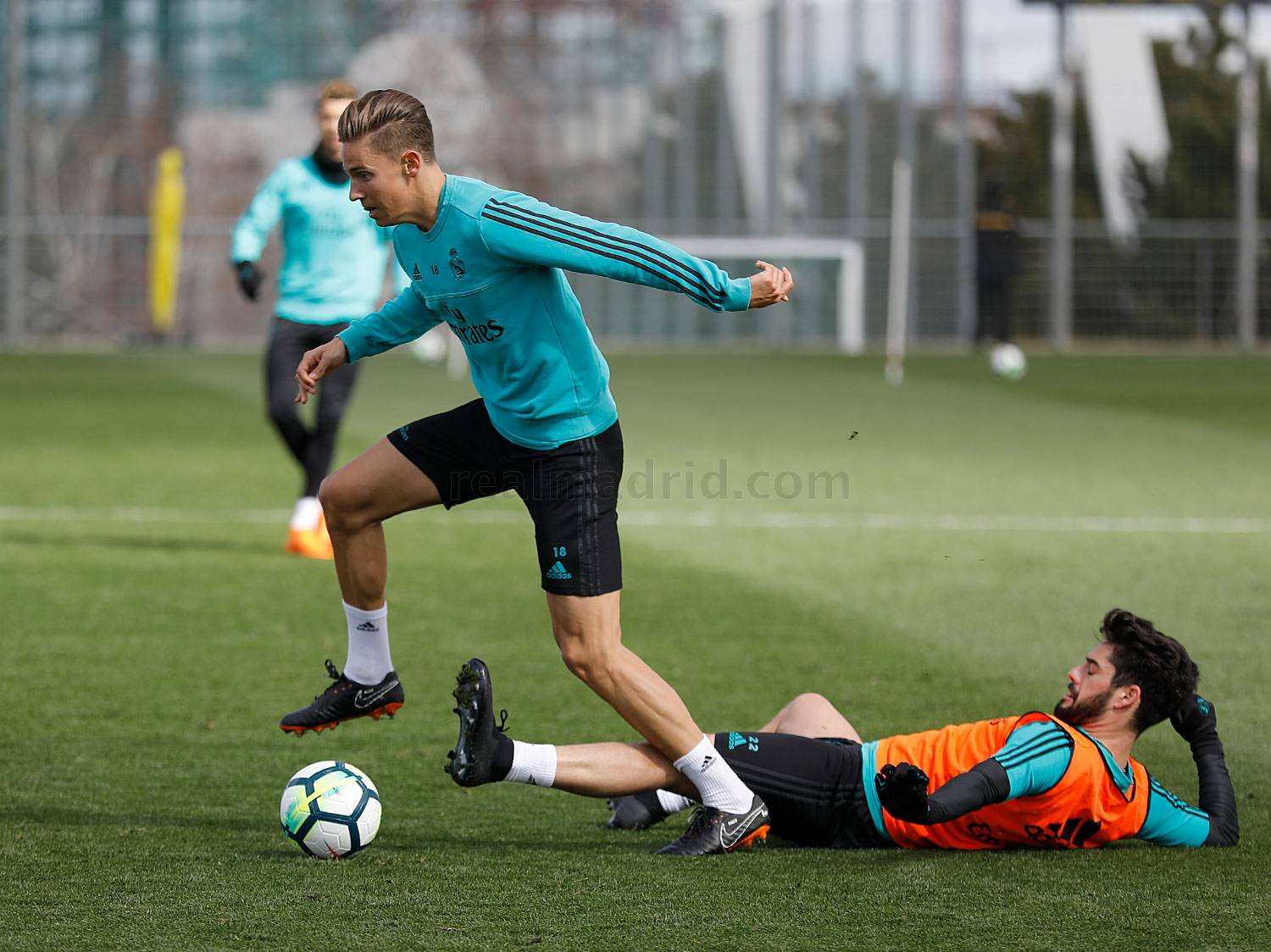 Real Madrid - Entrenamiento del Real Madrid - 15-03-2018