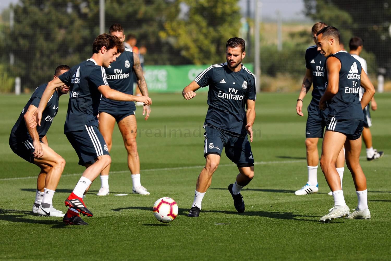 Real Madrid - Entrenamiento del Real Madrid - 14-09-2018