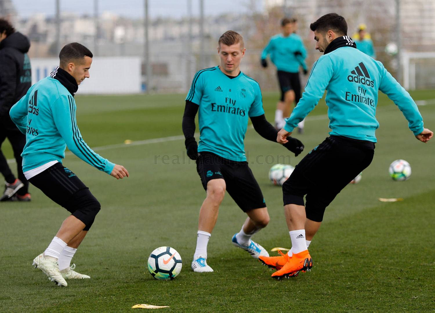 Real Madrid - Entrenamiento del Real Madrid - 13-04-2018