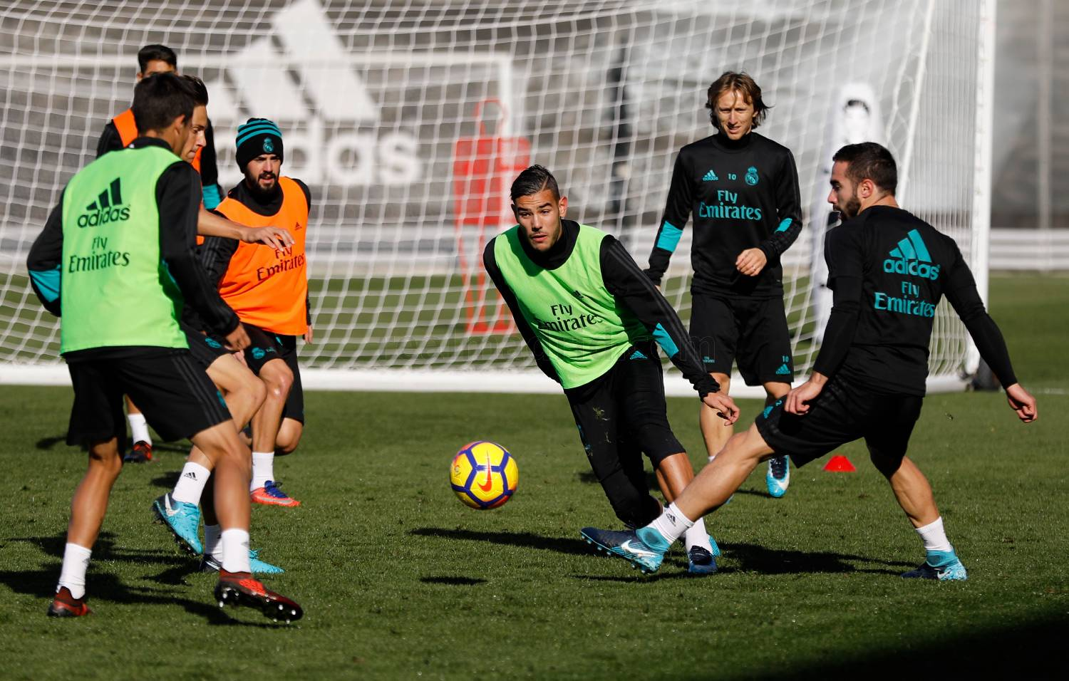 Real Madrid - Entrenamiento del Real Madrid - 15-11-2017