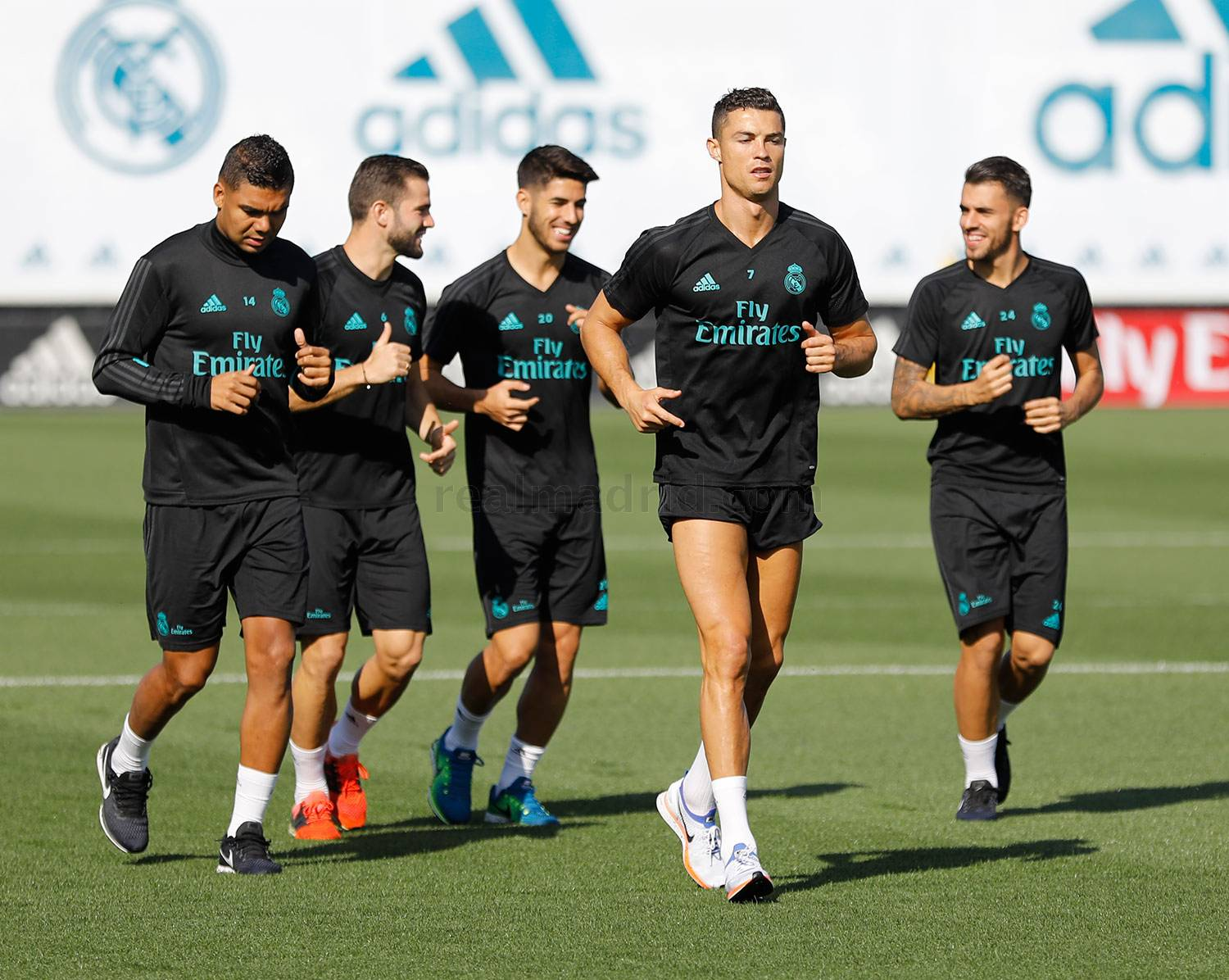 Real Madrid - Entrenamiento del Real Madrid - 24-09-2017