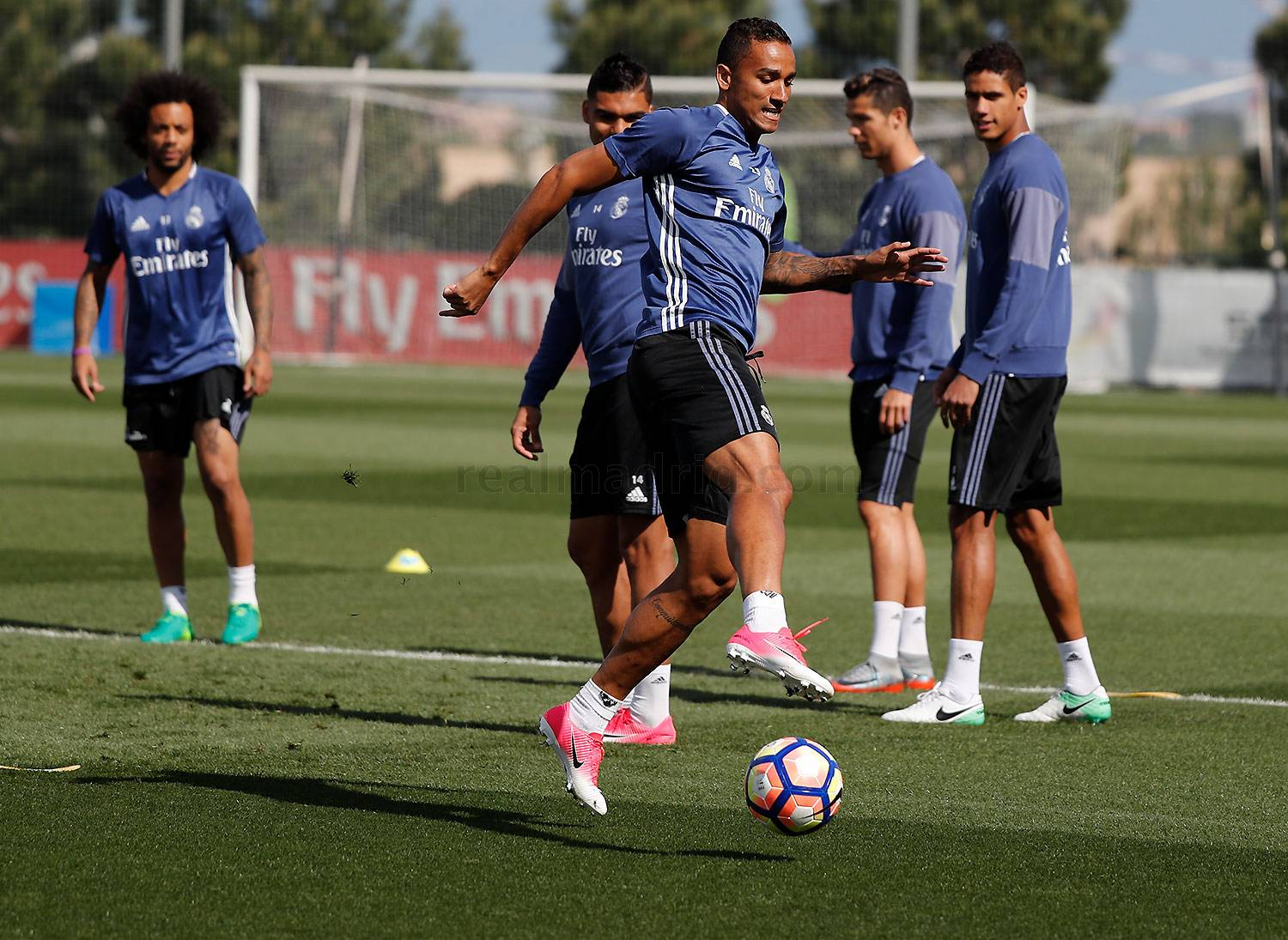 Real Madrid - Entrenamiento del Real Madrid - 22-04-2017