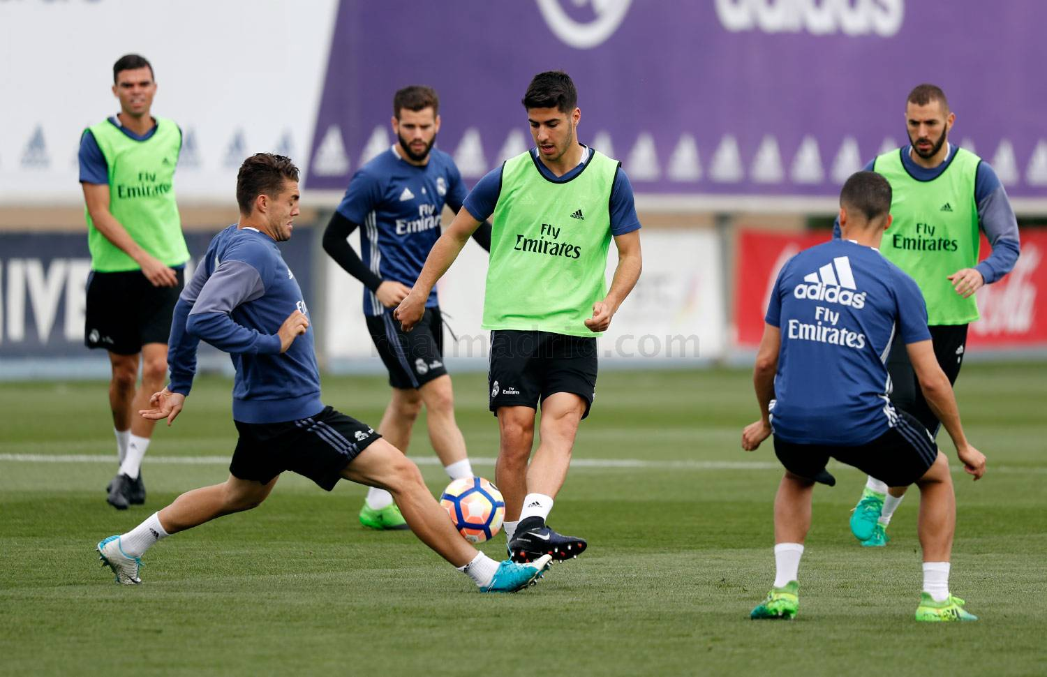 Real Madrid - Entrenamiento del Real Madrid - 04-05-2017