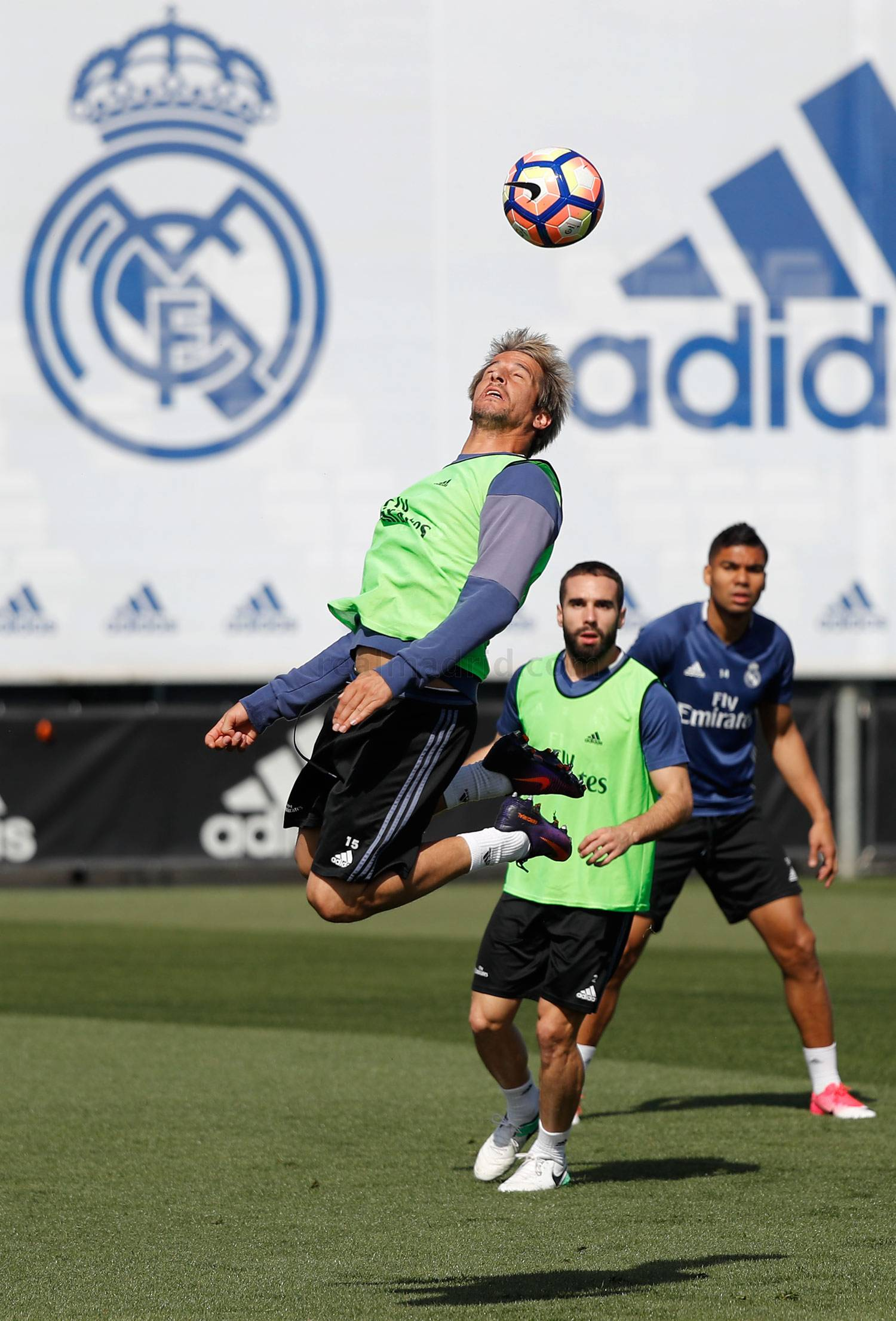 Real Madrid - Entrenamiento del Real Madrid - 14-04-2017