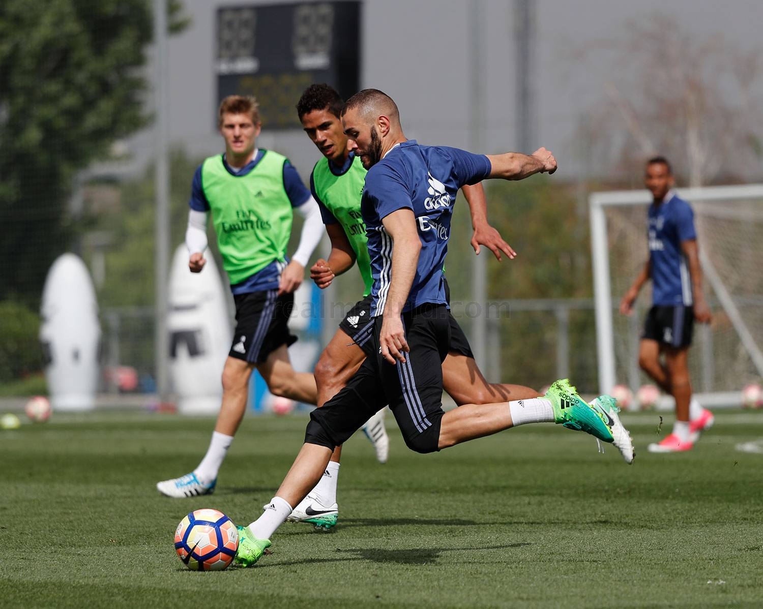 Real Madrid - Entrenamiento del Real Madrid - 25-04-2017