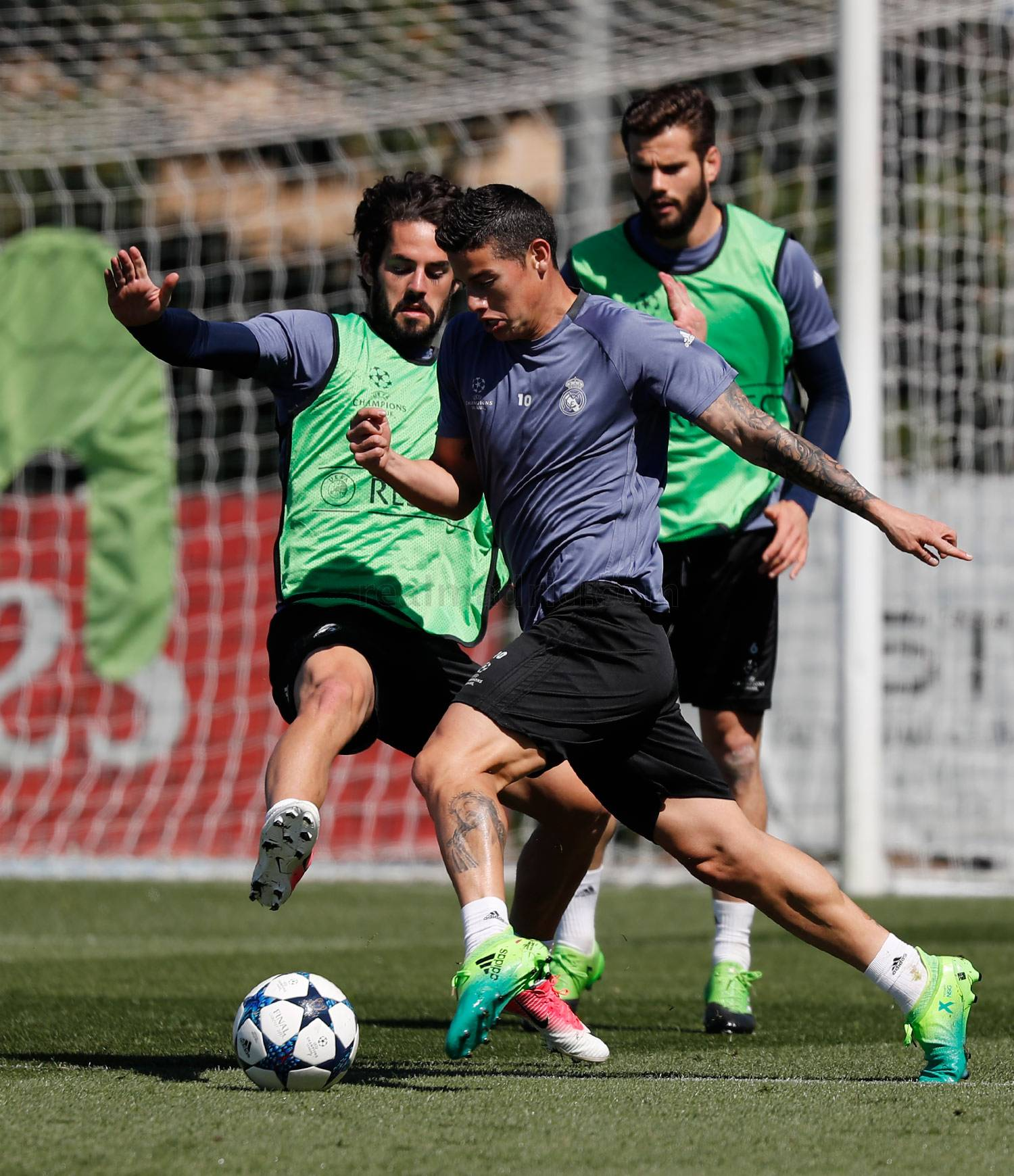 Real Madrid - Entrenamiento del Real Madrid - 01-05-2017