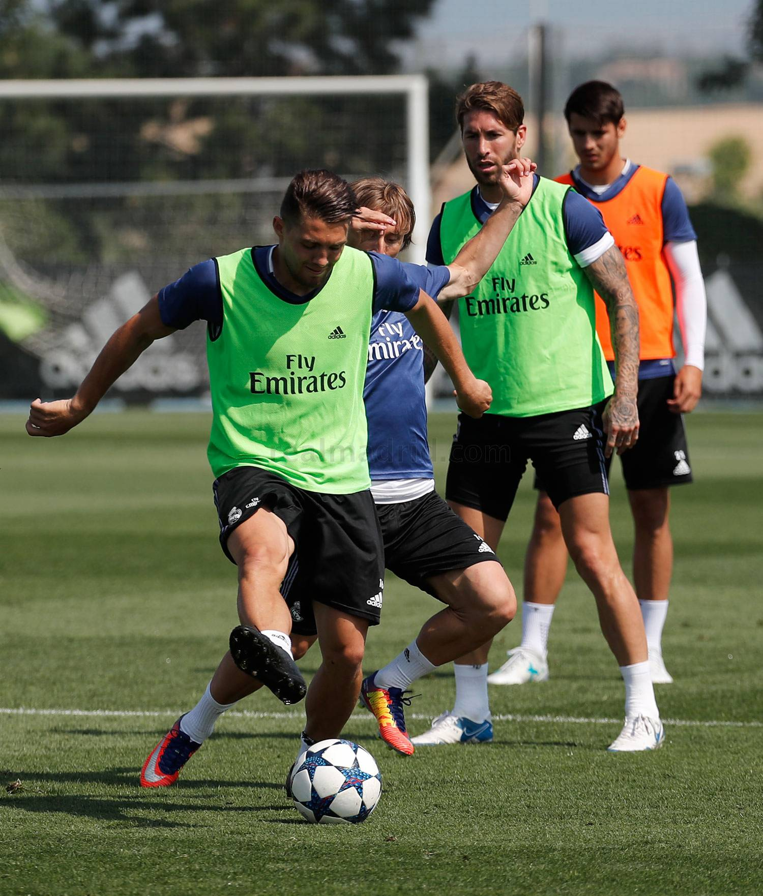 Real Madrid - Entrenamiento del Real Madrid - 01-06-2017