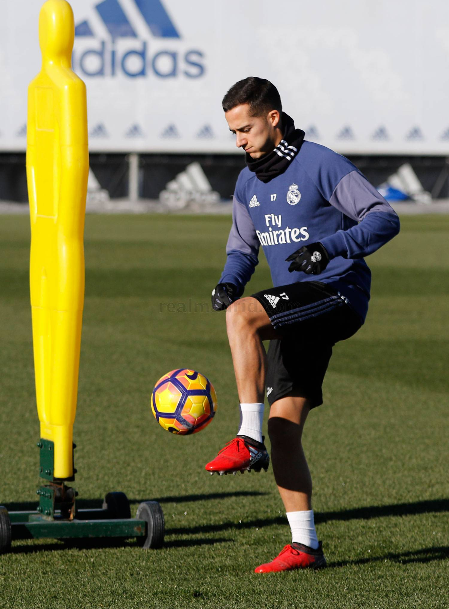 Real Madrid - Entrenamiento del Real Madrid - 09-01-2017