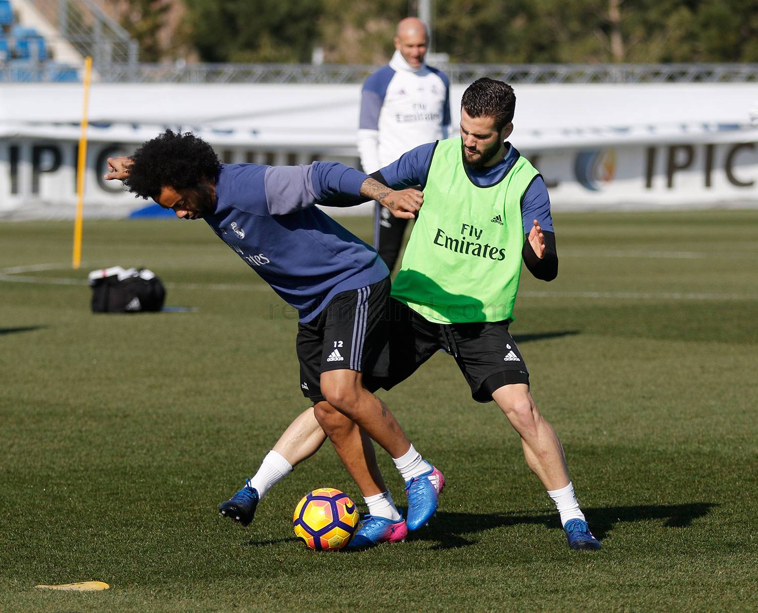 Real Madrid - Entrenamiento del Real Madrid - 20-02-2017