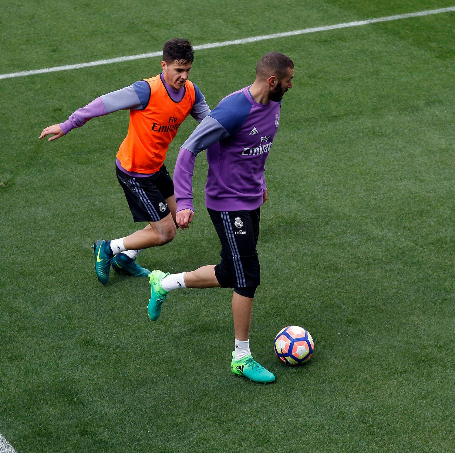 Real Madrid - Entrenamiento del Real Madrid - 23-03-2017