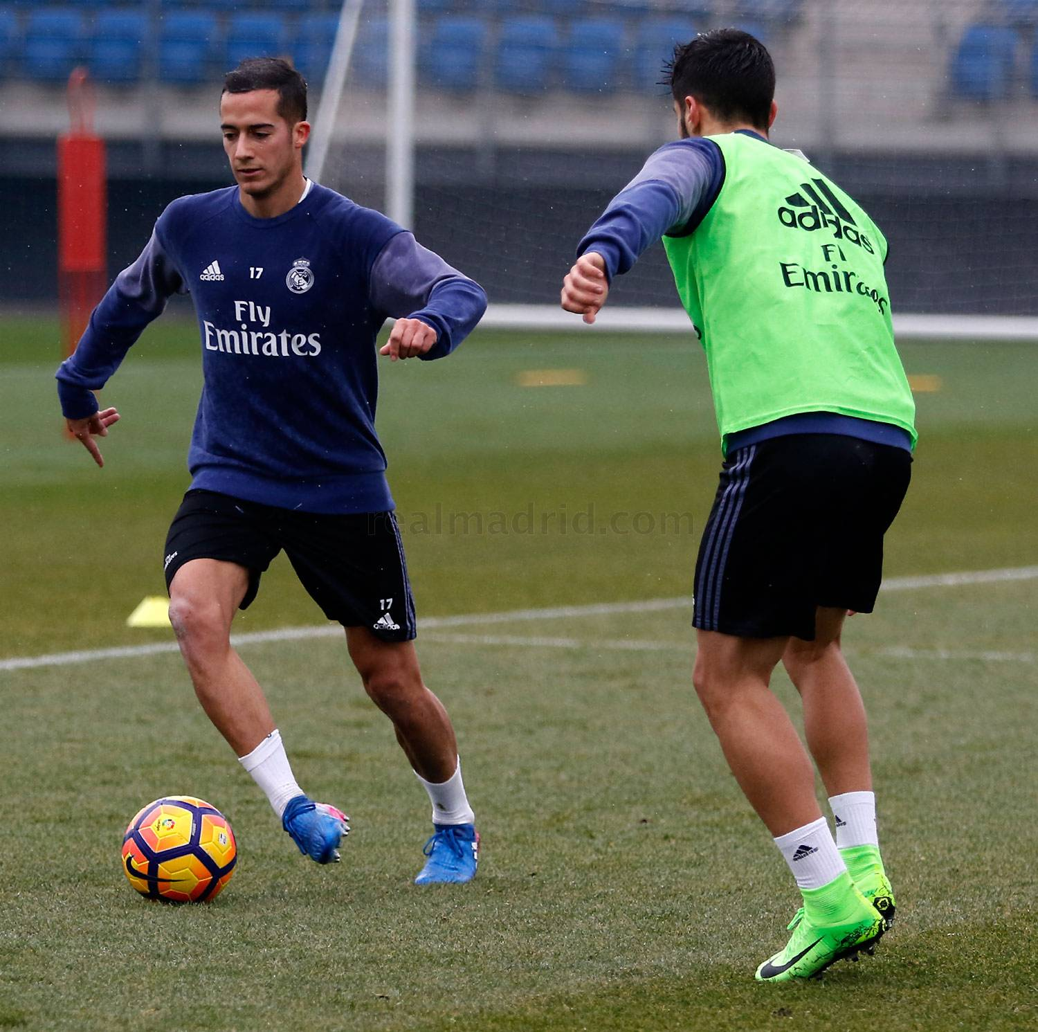 Real Madrid - Entrenamiento del Real Madrid - 01-02-2017