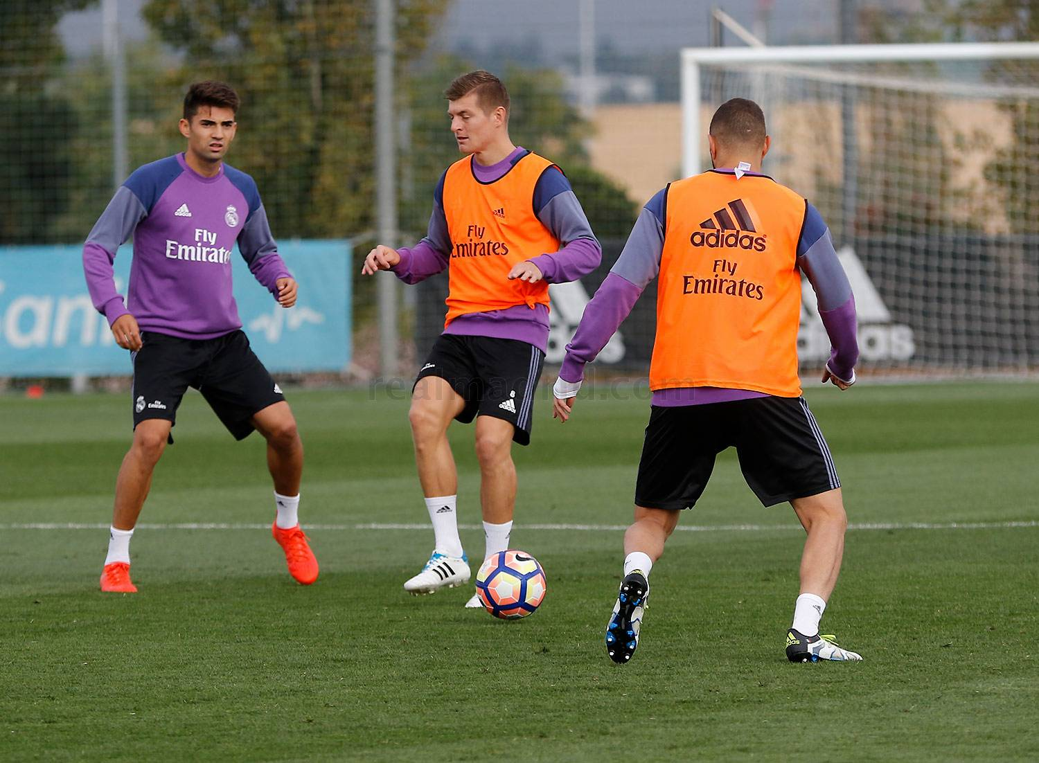 Real Madrid - Entrenamiento del Real Madrid - 13-10-2016