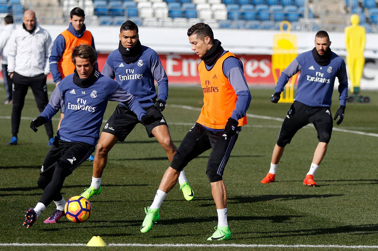 Real Madrid - Entrenamiento del Real Madrid - 09-02-2017