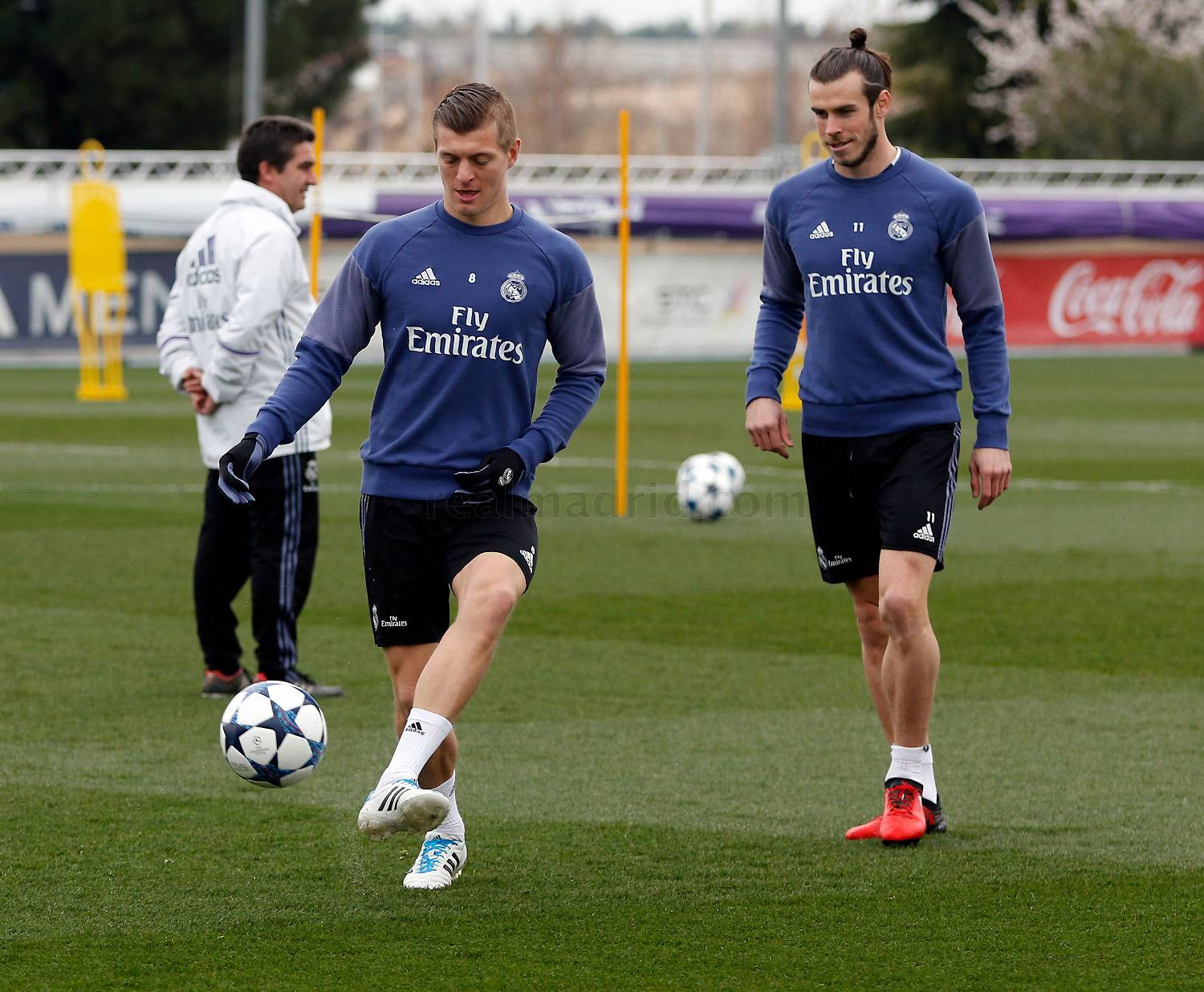 Real Madrid - Entrenamiento del Real Madrid - 05-03-2017