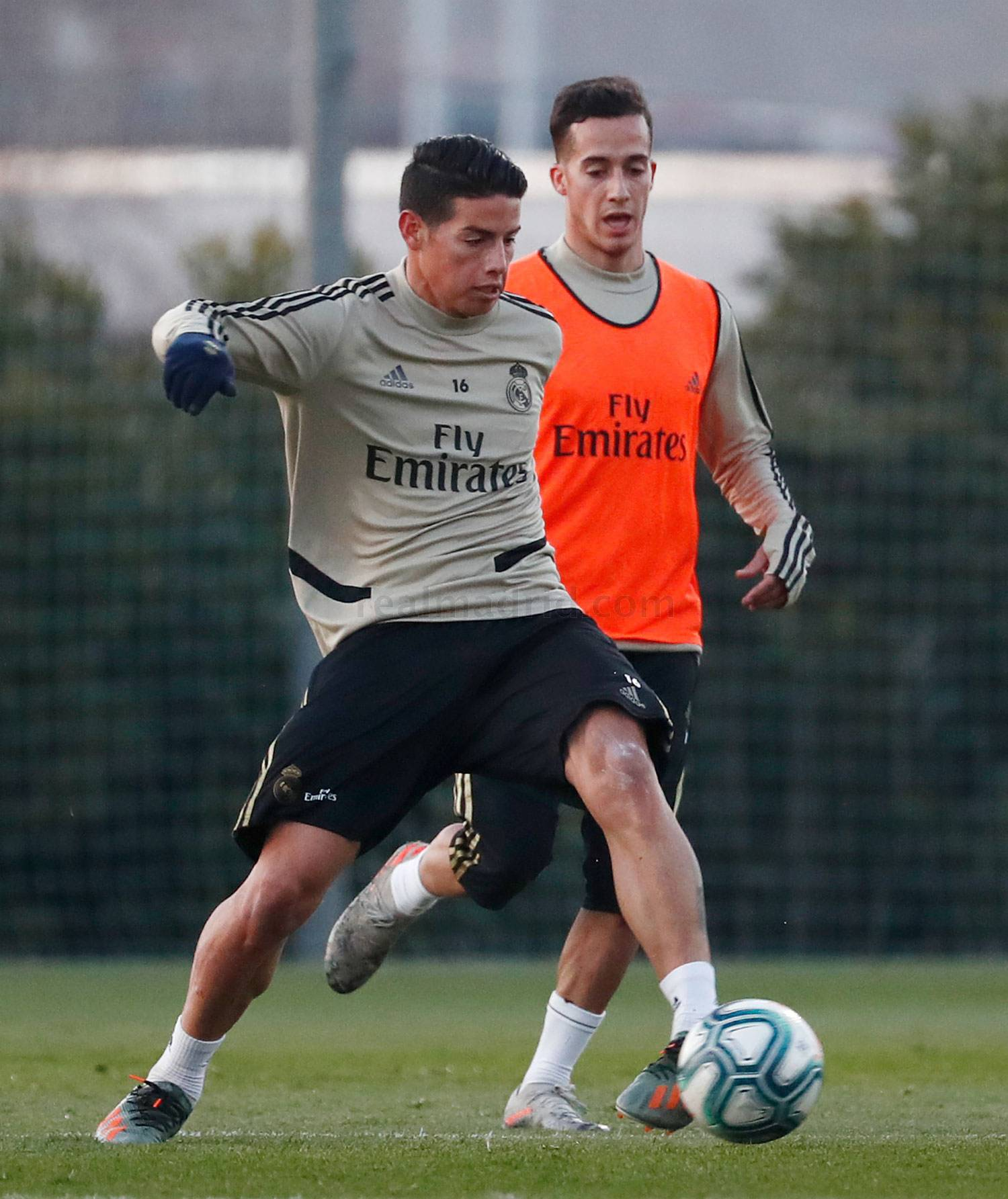 Real Madrid - Entrenamiento del Real Madrid  - 14-01-2020