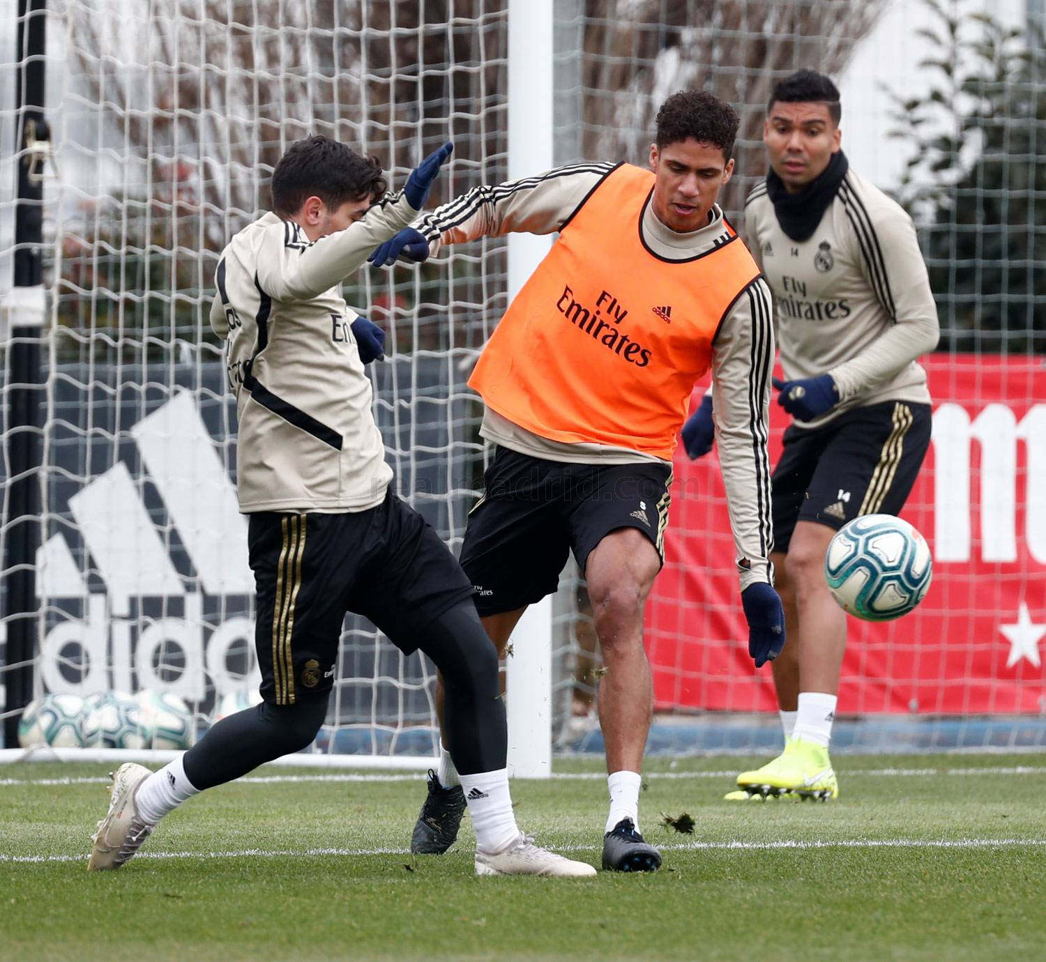 Real Madrid - Entrenamiento del Real Madrid  - 16-01-2020
