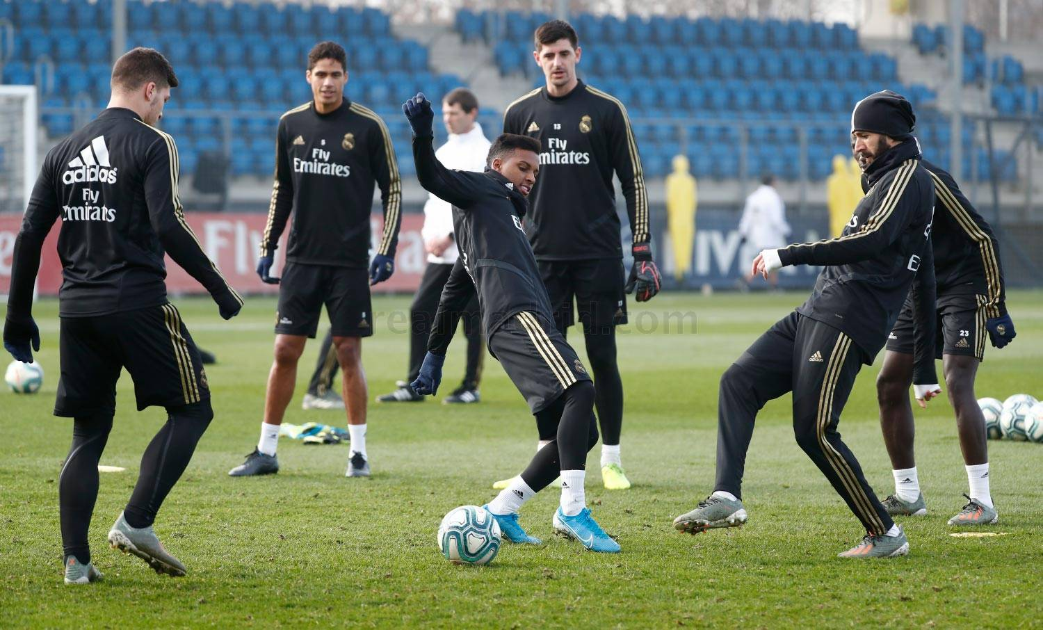 Real Madrid - Entrenamiento del Real Madrid  - 14-12-2019