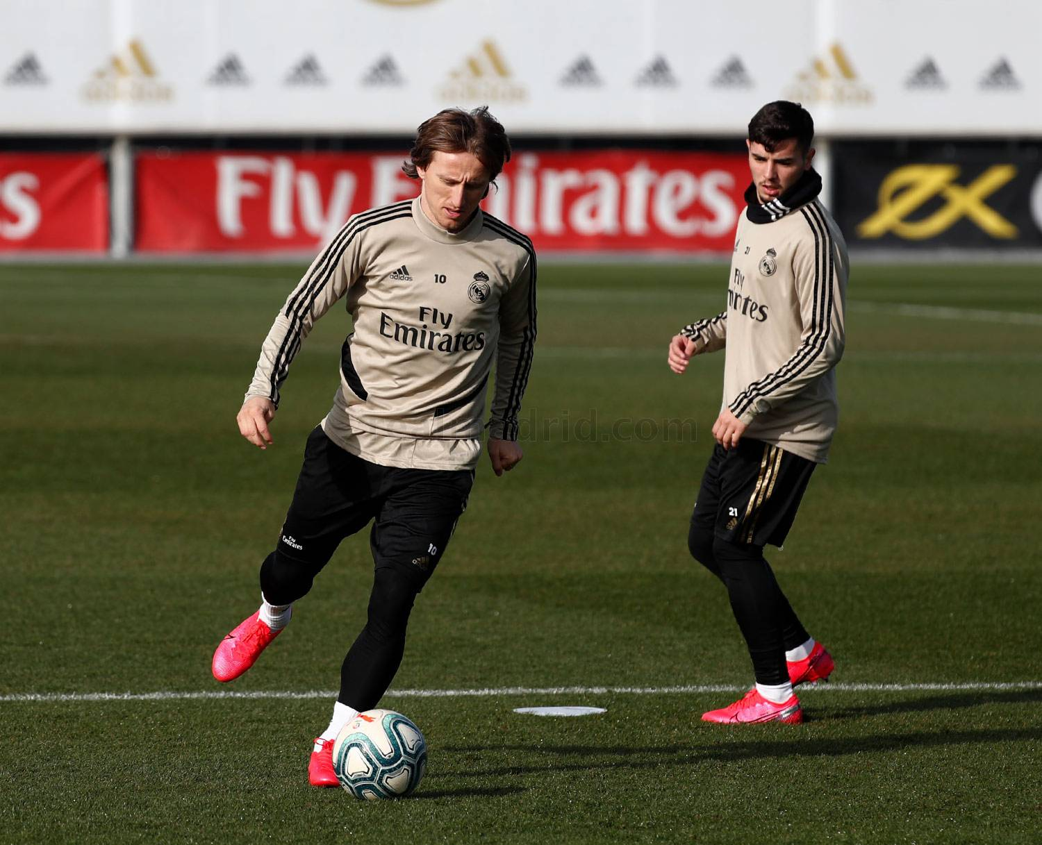 Real Madrid - Entrenamiento del Real Madrid  - 23-01-2020
