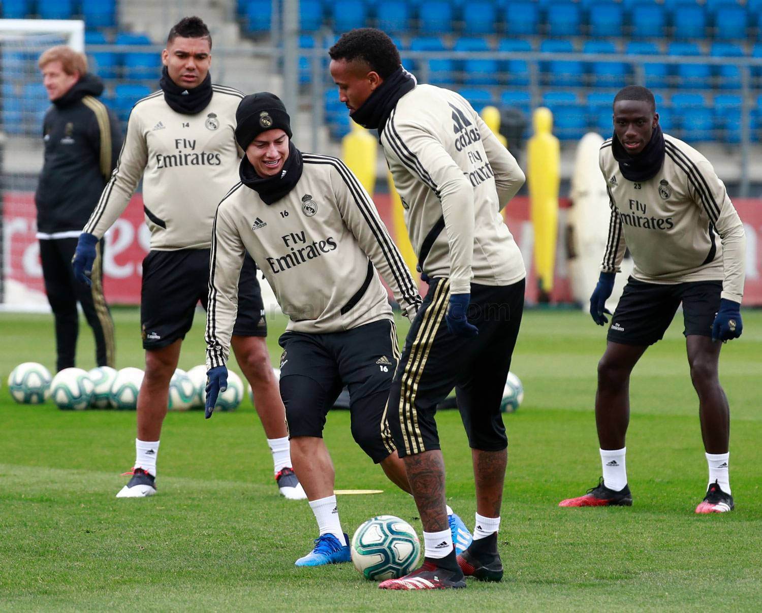 Real Madrid - Entrenamiento del Real Madrid  - 29-02-2020