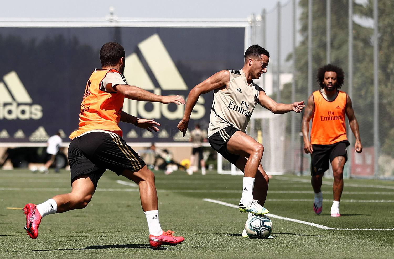 Real Madrid - Entrenamiento del Real Madrid  - 30-06-2020