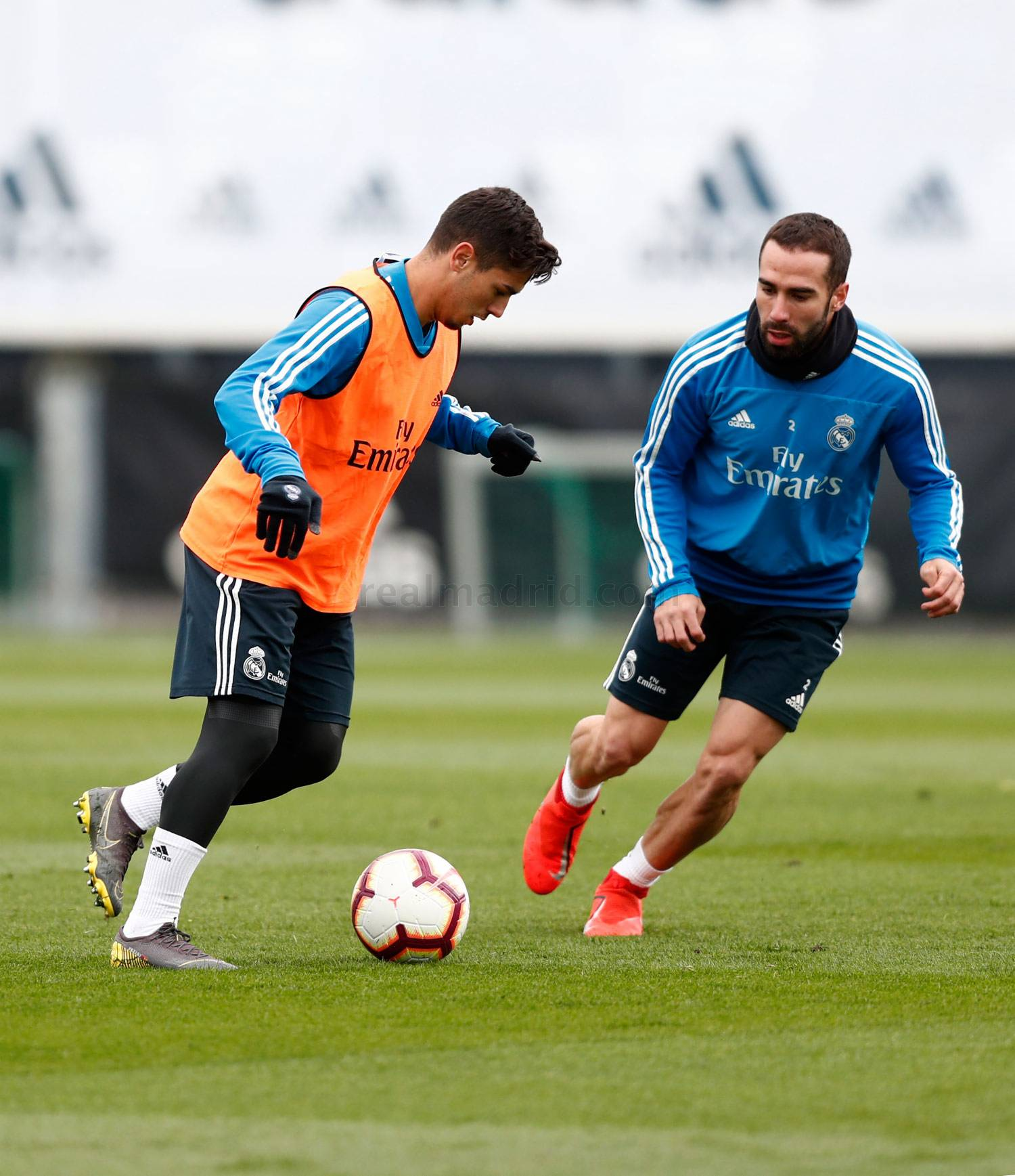 Real Madrid - Entrenamiento del Real Madrid - 23-04-2019