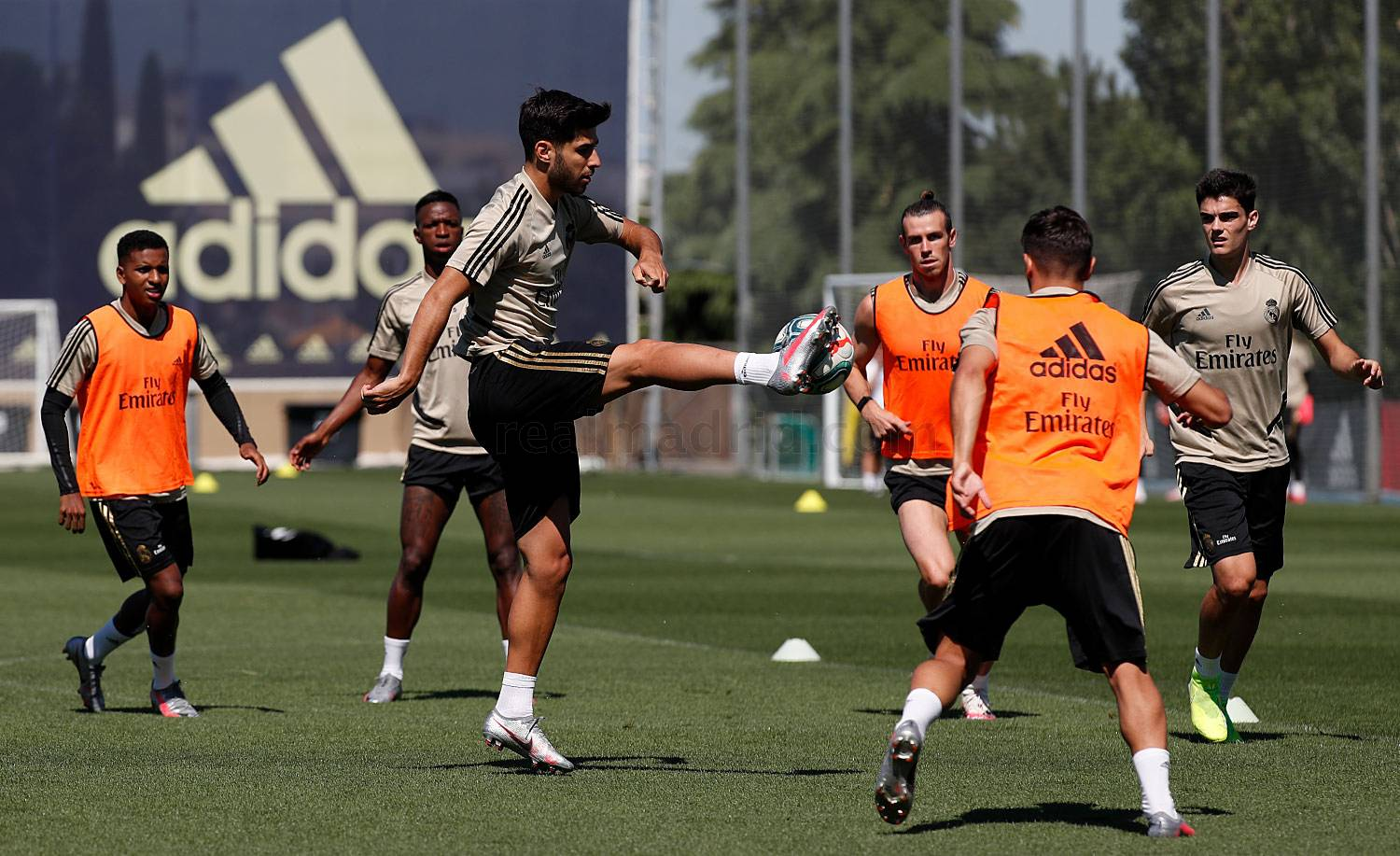 Real Madrid - Entrenamiento del Real Madrid  - 20-06-2020