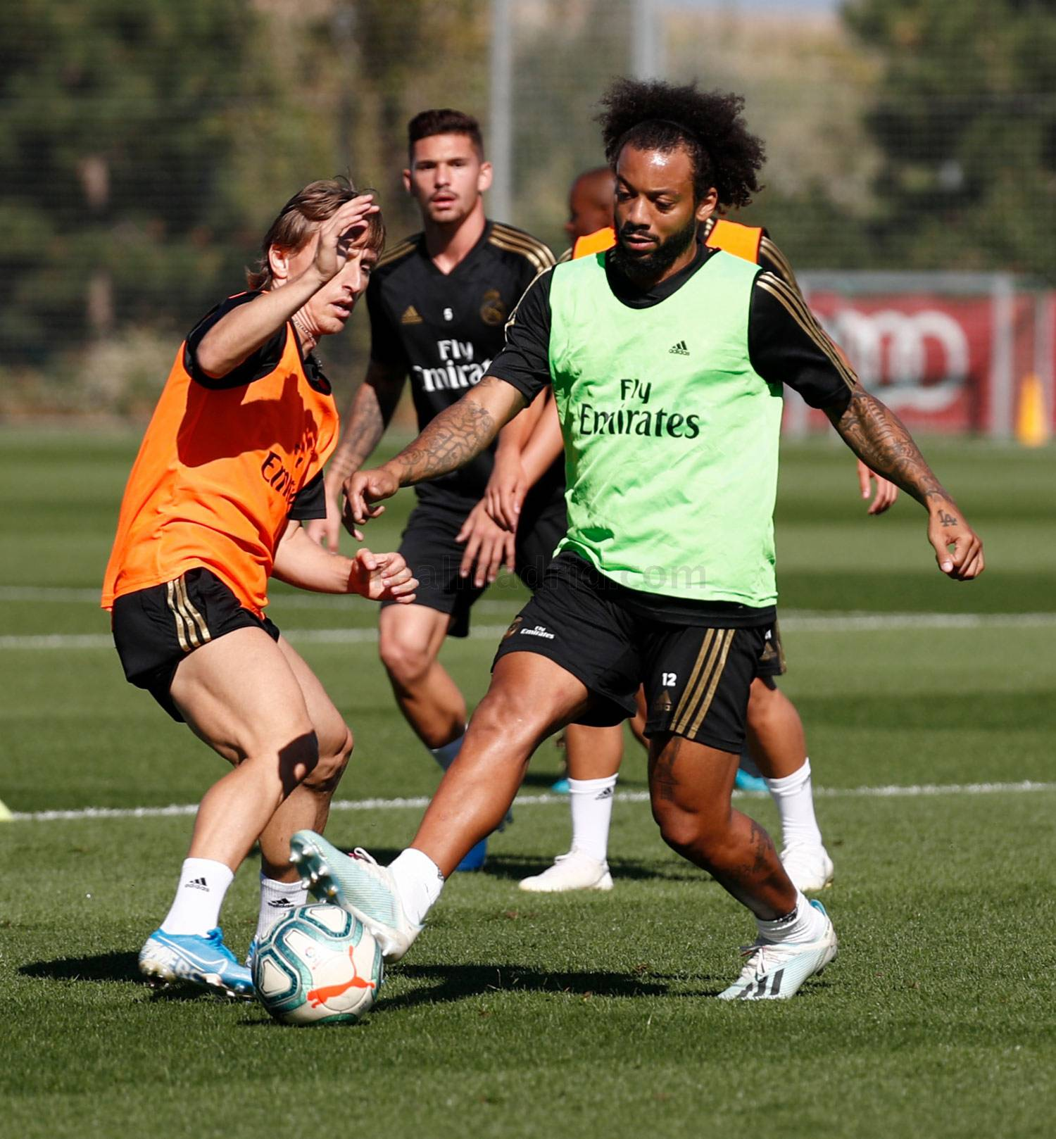 Real Madrid - Entrenamiento del Real Madrid  - 26-09-2019