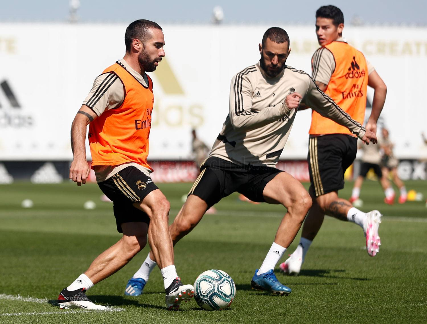 Real Madrid - Entrenamiento del Real Madrid  - 27-05-2020