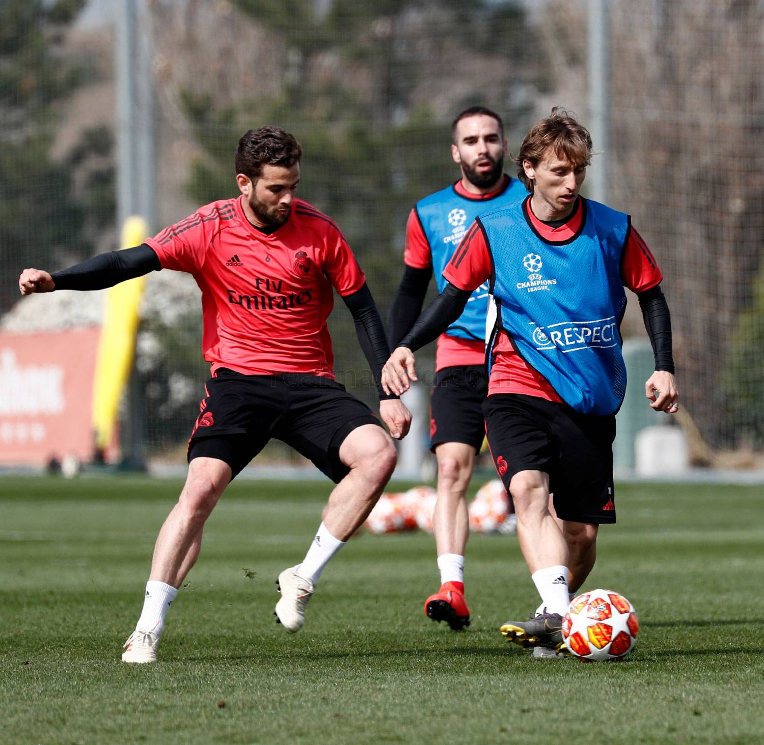 Real Madrid - Entrenamiento del Real Madrid - 04-03-2019