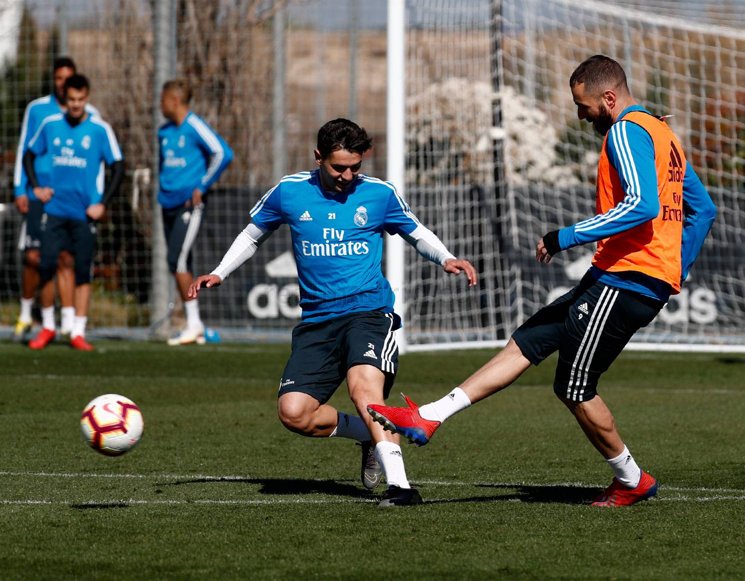 Real Madrid - Entrenamiento del Real Madrid - 14-03-2019