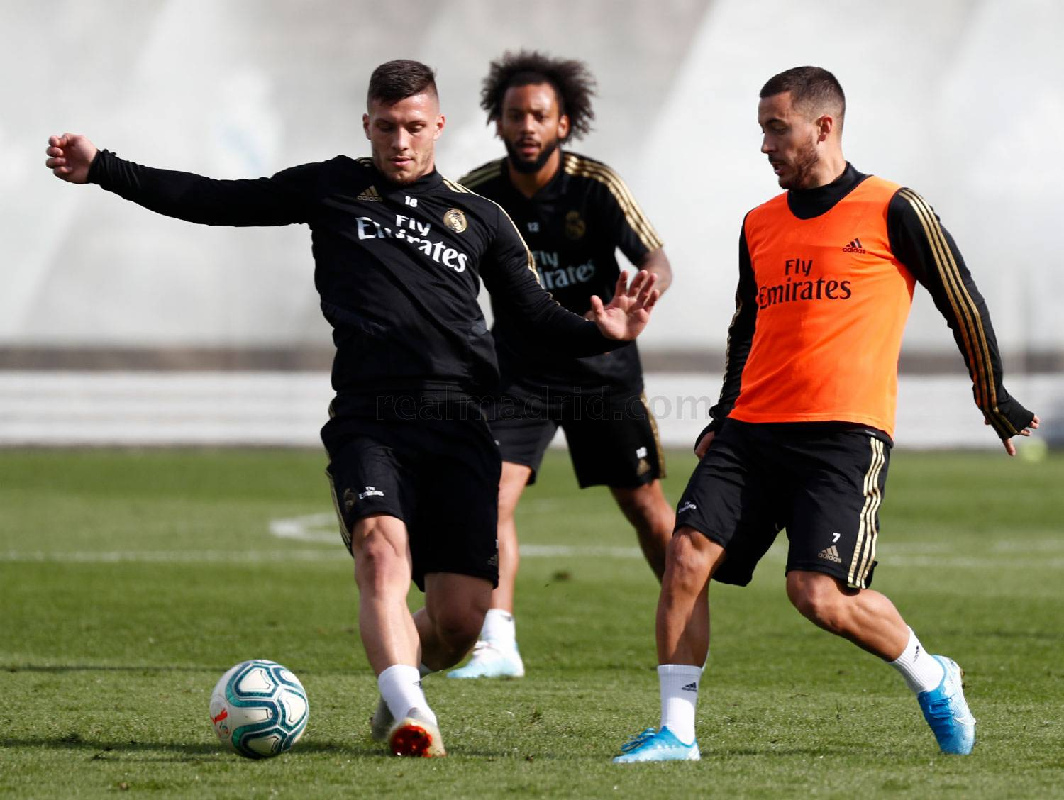 Real Madrid - Entrenamiento del Real Madrid  - 16-10-2019