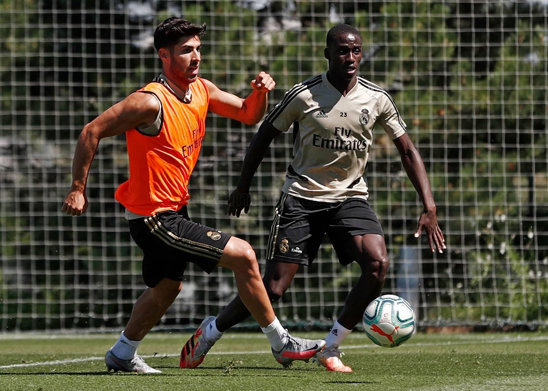 Real Madrid - Entrenamiento del Real Madrid - 01-07-2020