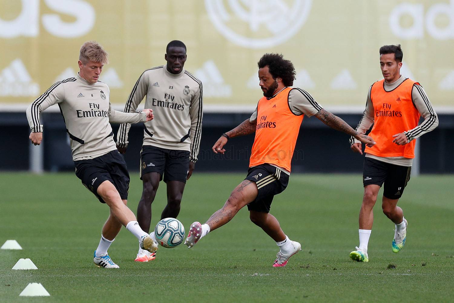 Real Madrid - Entrenamiento del Real Madrid  - 04-06-2020