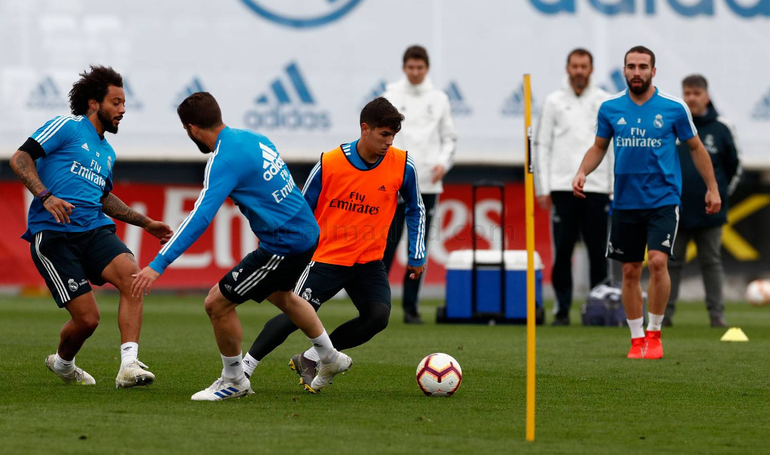 Real Madrid - Entrenamiento del Real Madrid - 19-04-2019