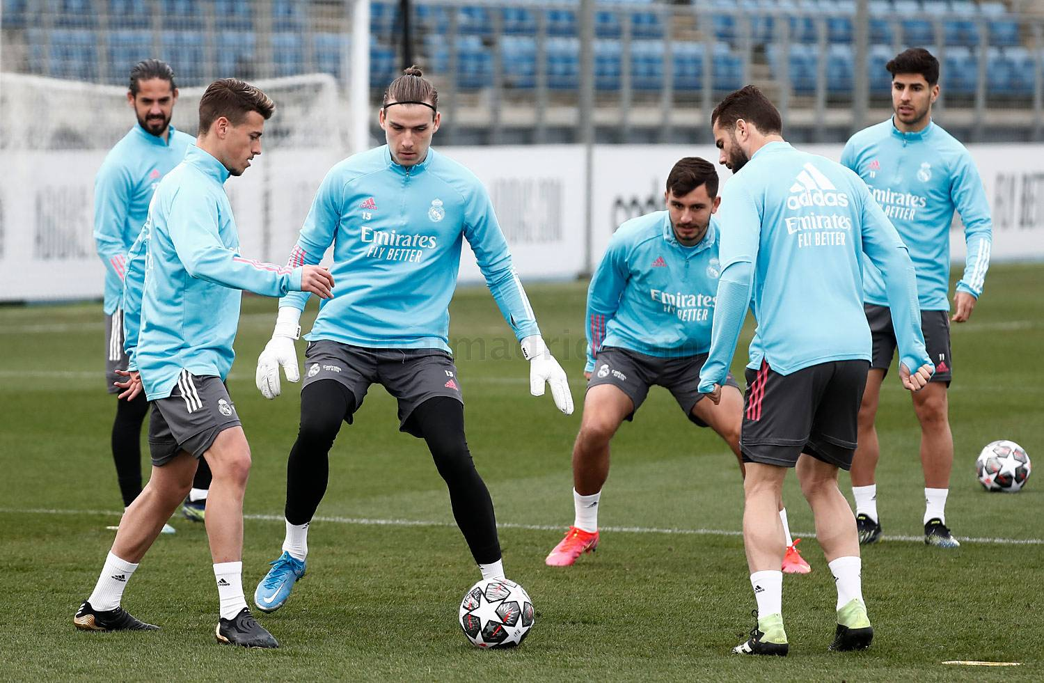 Real Madrid - Entrenamiento del Real Madrid  - 22-02-2021