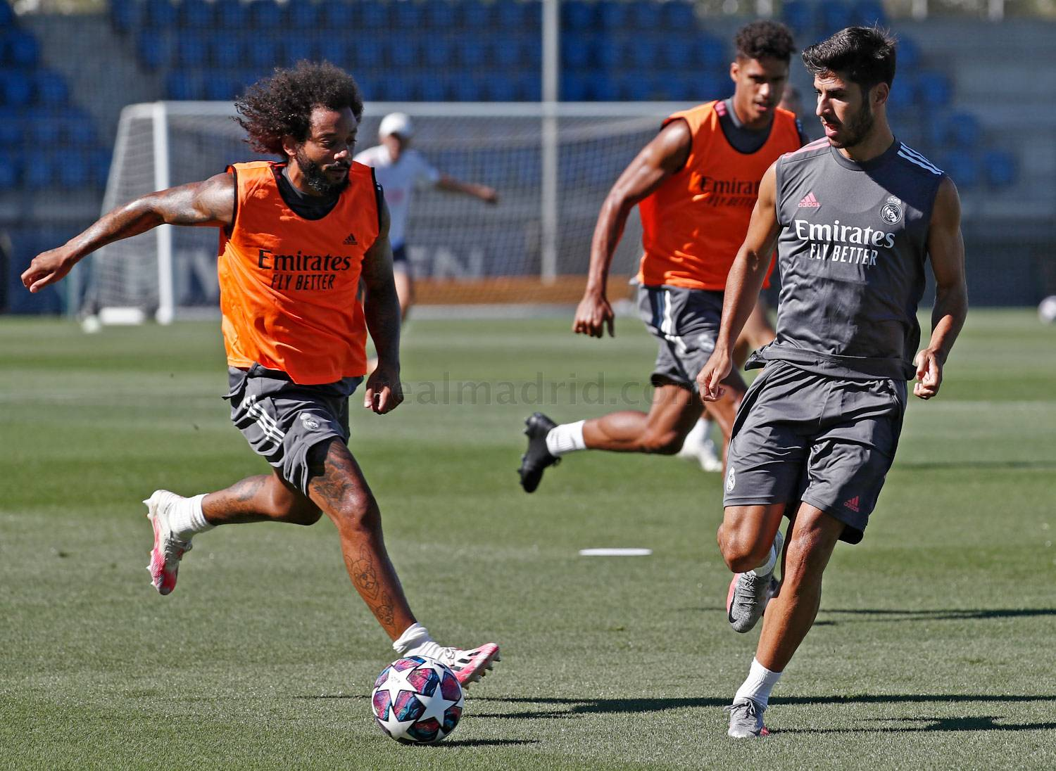 Real Madrid - Entrenamiento del Real Madrid  - 04-08-2020