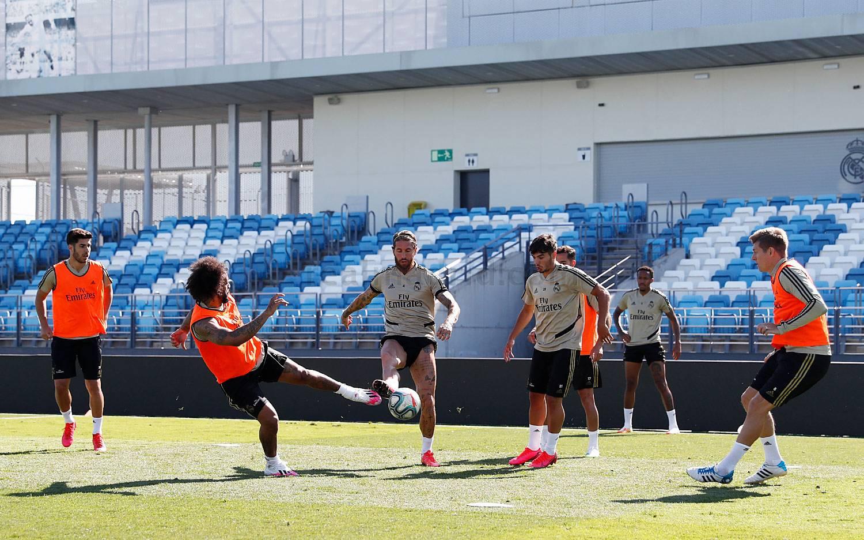 Real Madrid - Tercera semana de entrenamientos - 29-05-2020