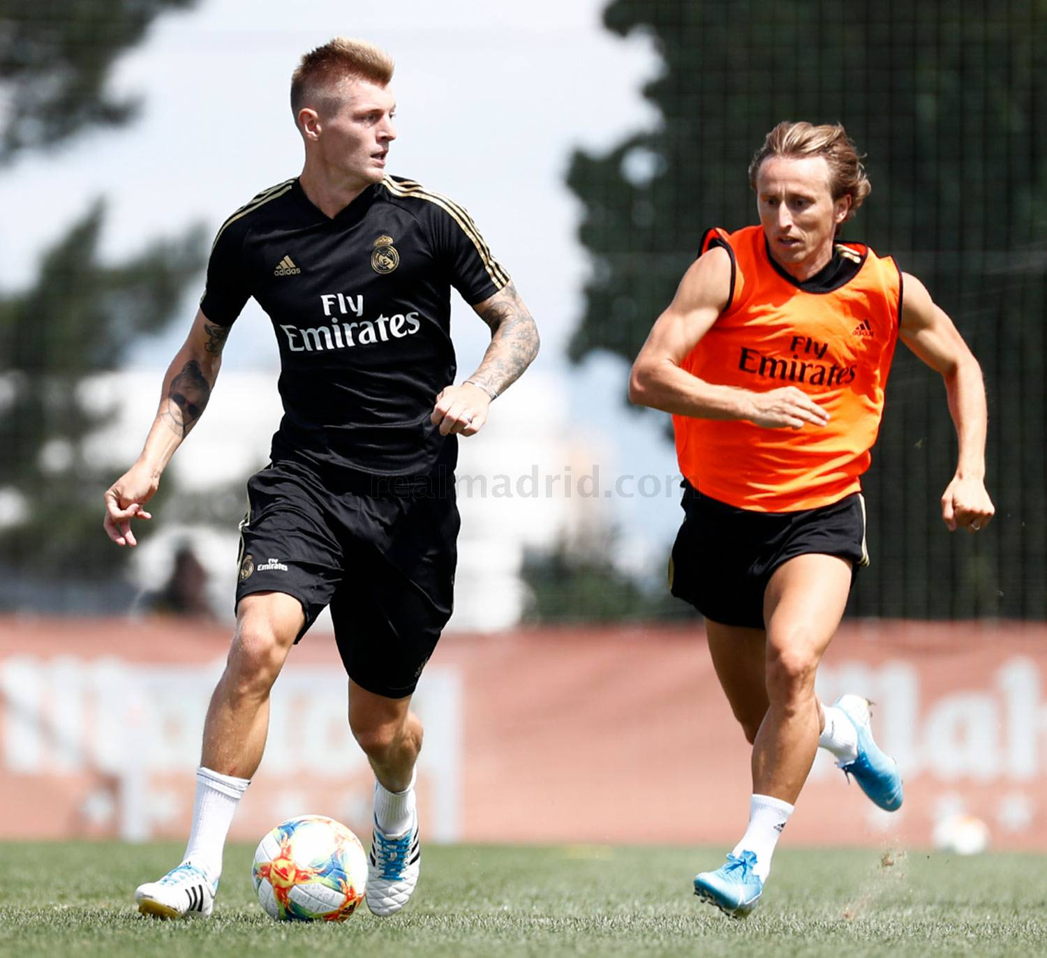 Real Madrid - Entrenamiento del Real Madrid  - 09-08-2019