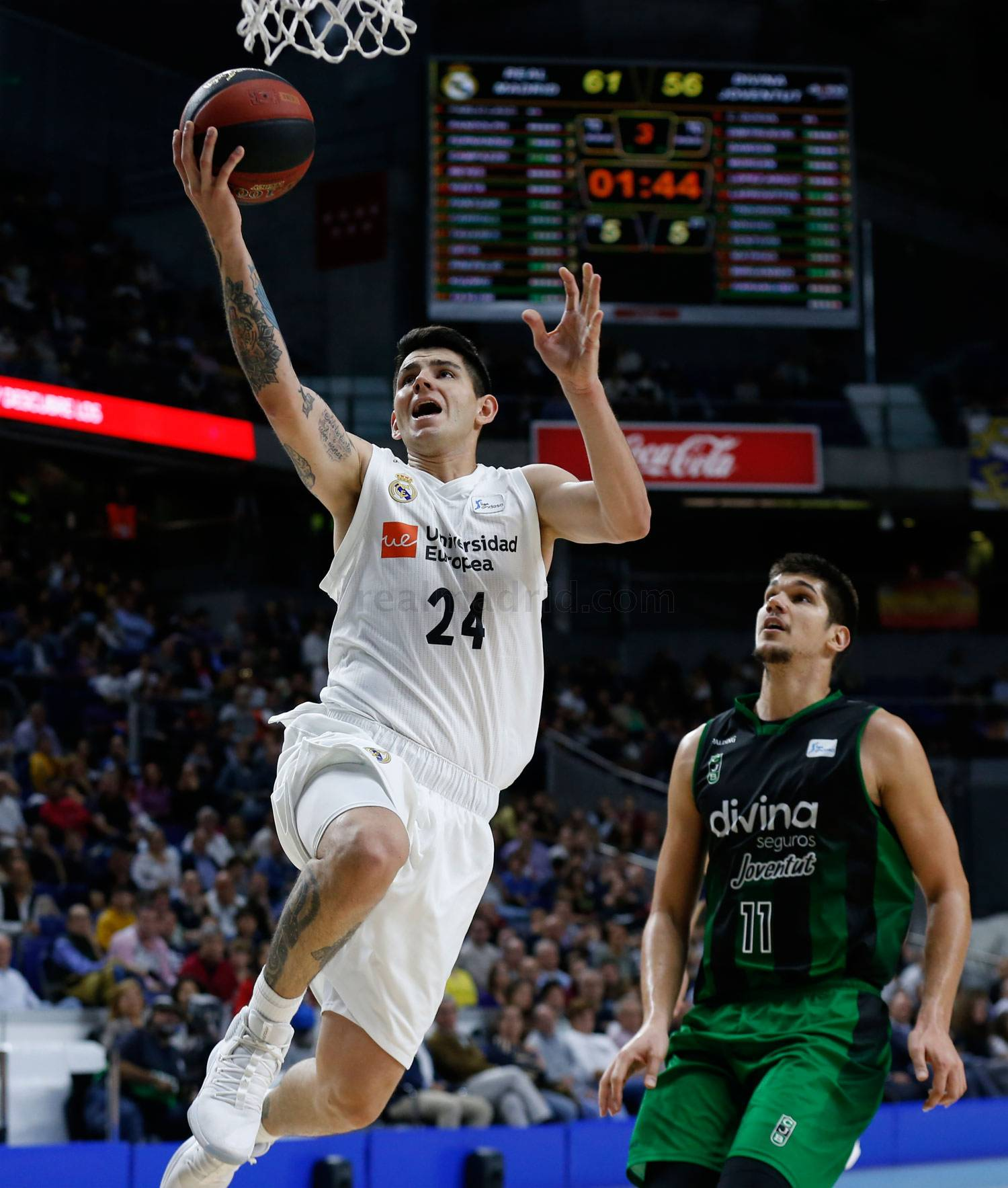 Real Madrid - Real Madrid - Divina Seguros Joventut - 14-10-2018