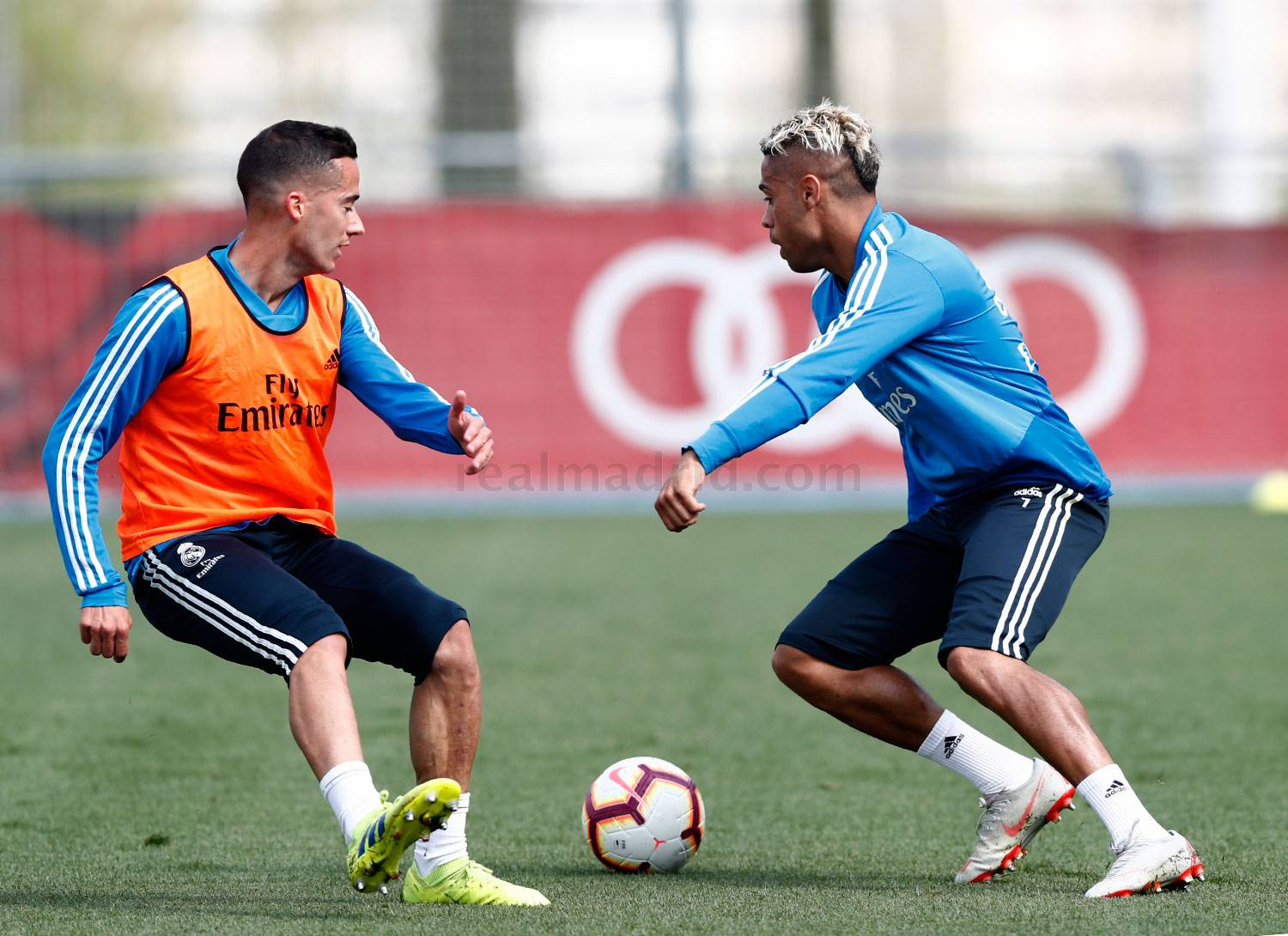 Real Madrid - Entrenamiento del Real Madrid - 02-04-2019
