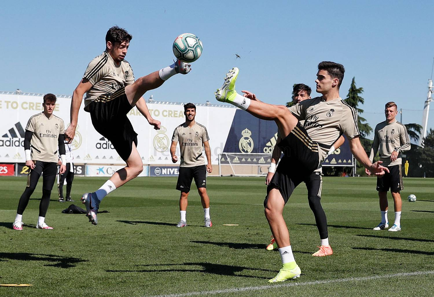 Real Madrid - Entrenamiento del Real Madrid  - 05-06-2020