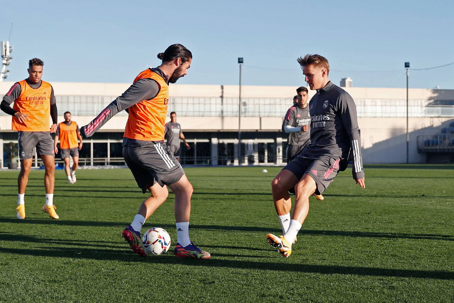 Real Madrid - Entrenamiento del Real Madrid  - 20-11-2020